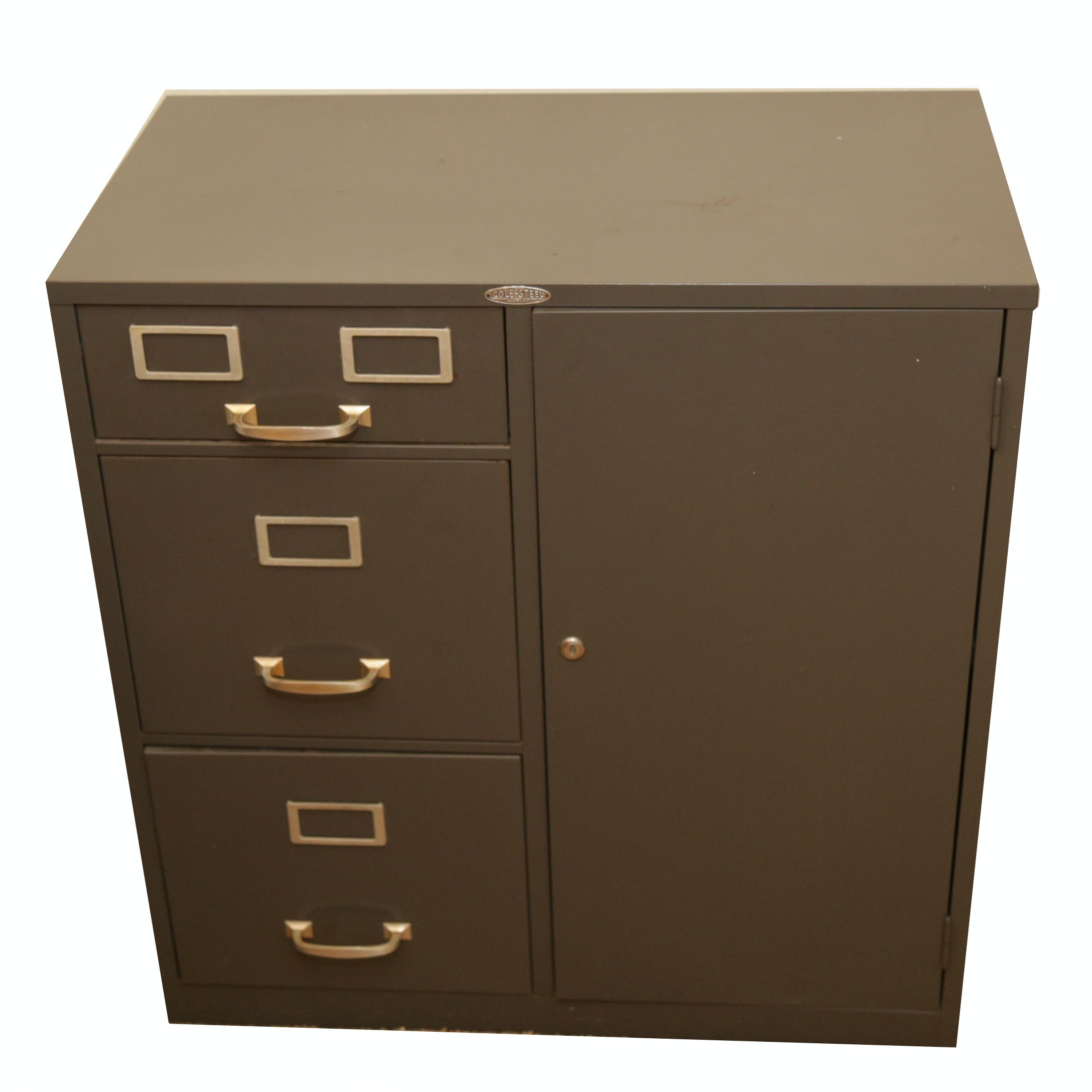 Merveilleux Cole Steel Metal Filing Cabinet With Safe ...