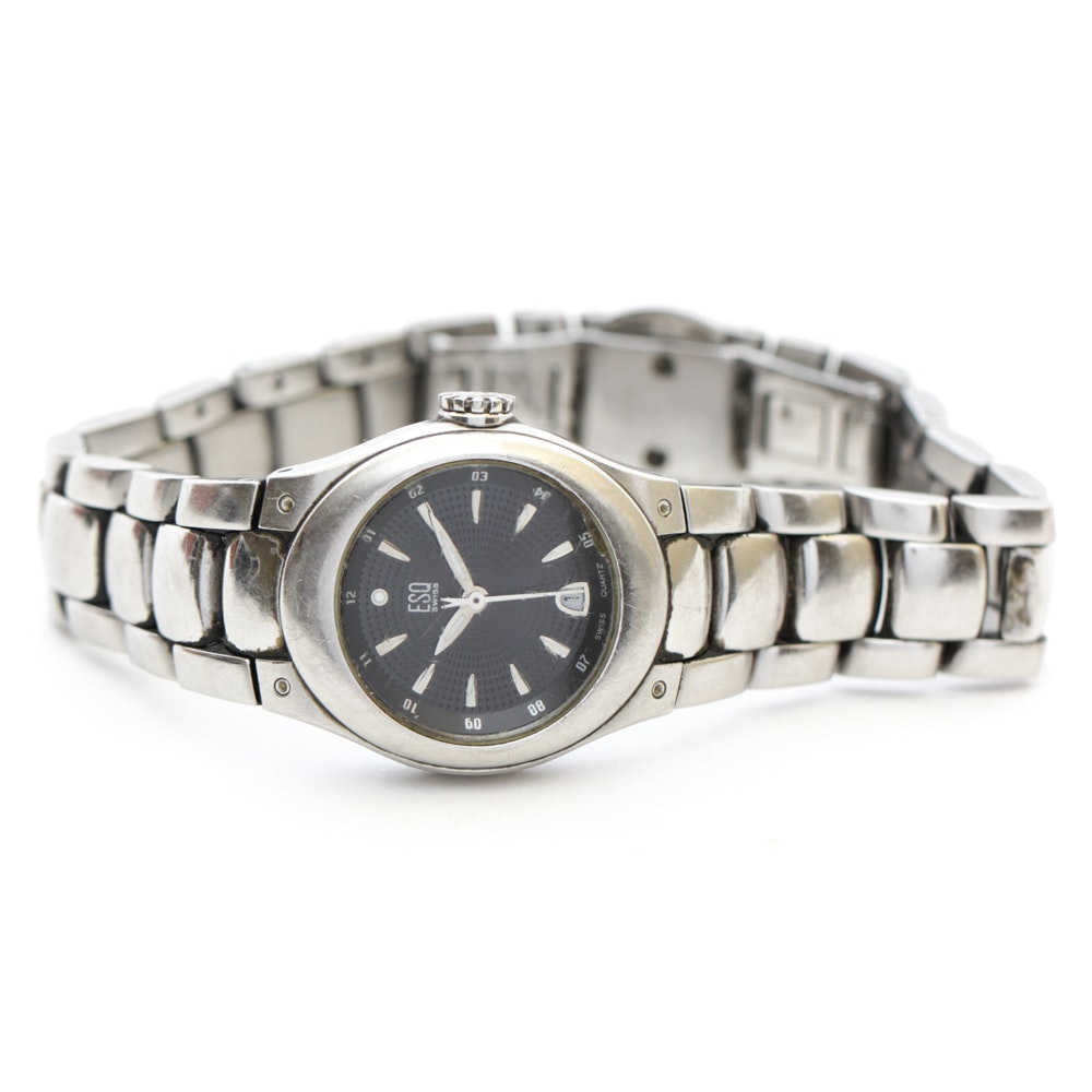 ESQ Stainless Steel Wristwatch