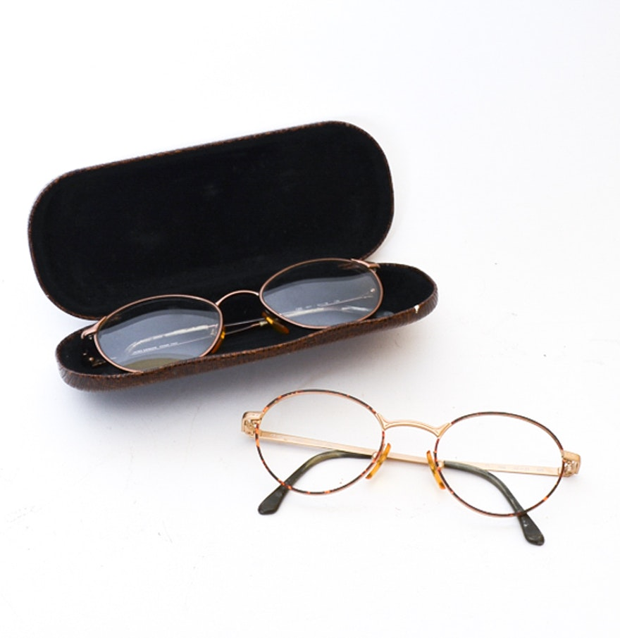 Eyeglass Frames On Consignment : Giorgio Armani Eyeglass Frames : EBTH