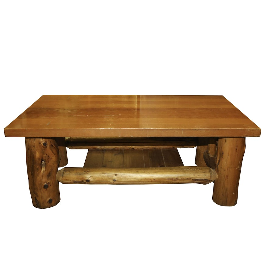 Lodge Style Coffee Table