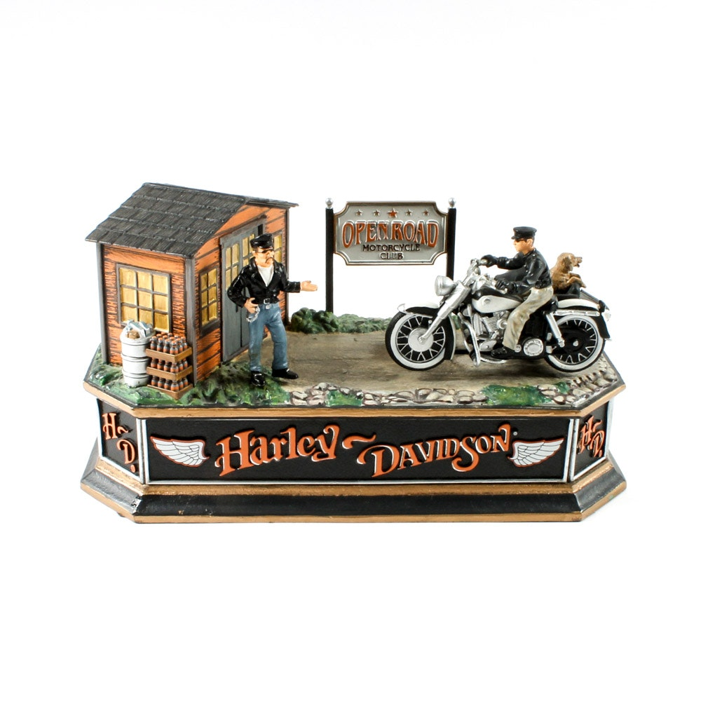 Harley-Davidson Mechanical Coin Bank