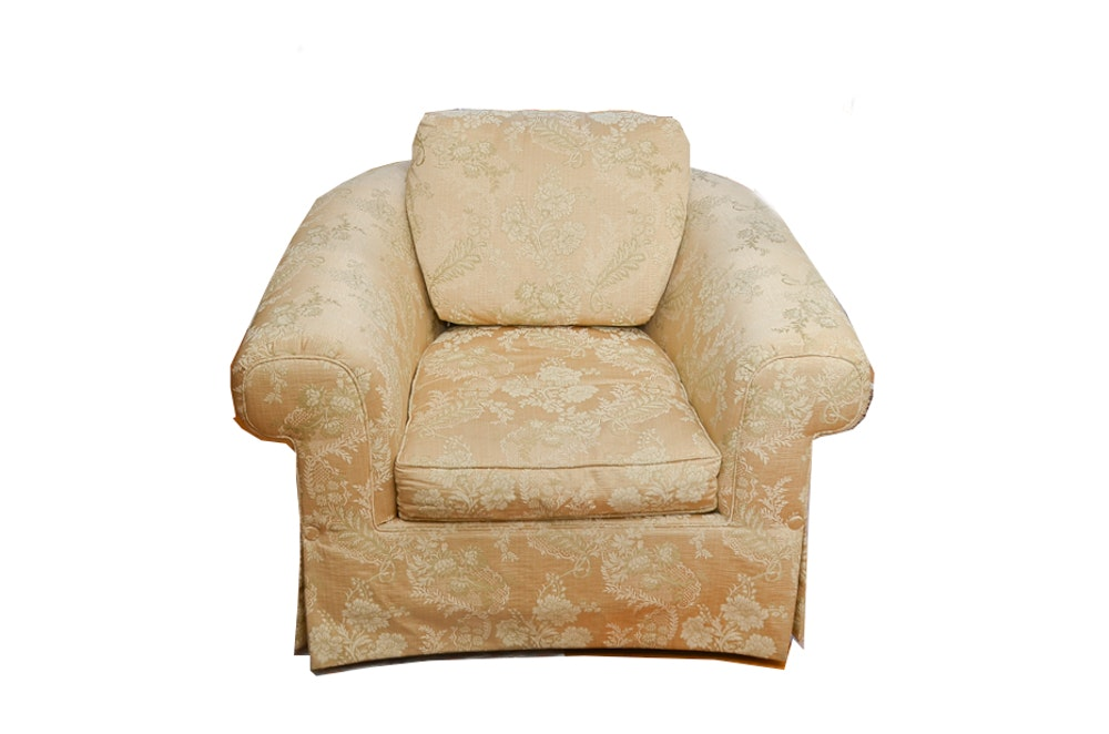 Floral Brocade Armchair by Century Furniture