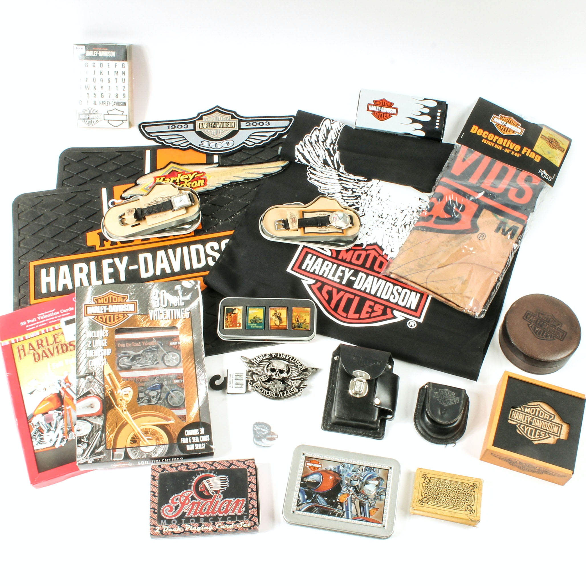 Harley-Davidson Branded Collectibles and Accessories