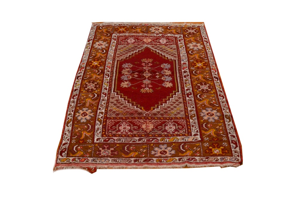 Handwoven Turkish Area Rug