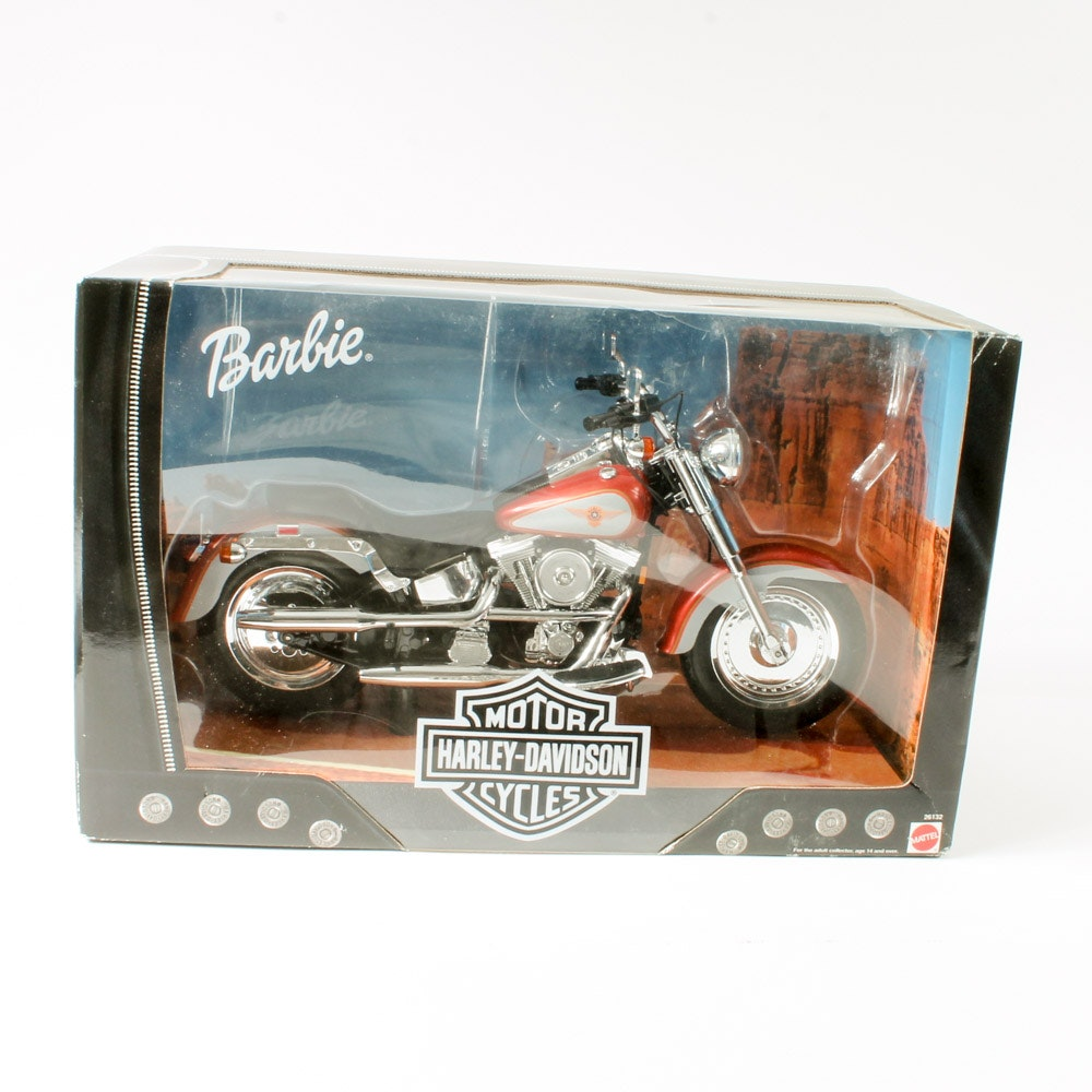 Mattel Barbie® Harley-Davidson Toy Motorcycle in Original Box