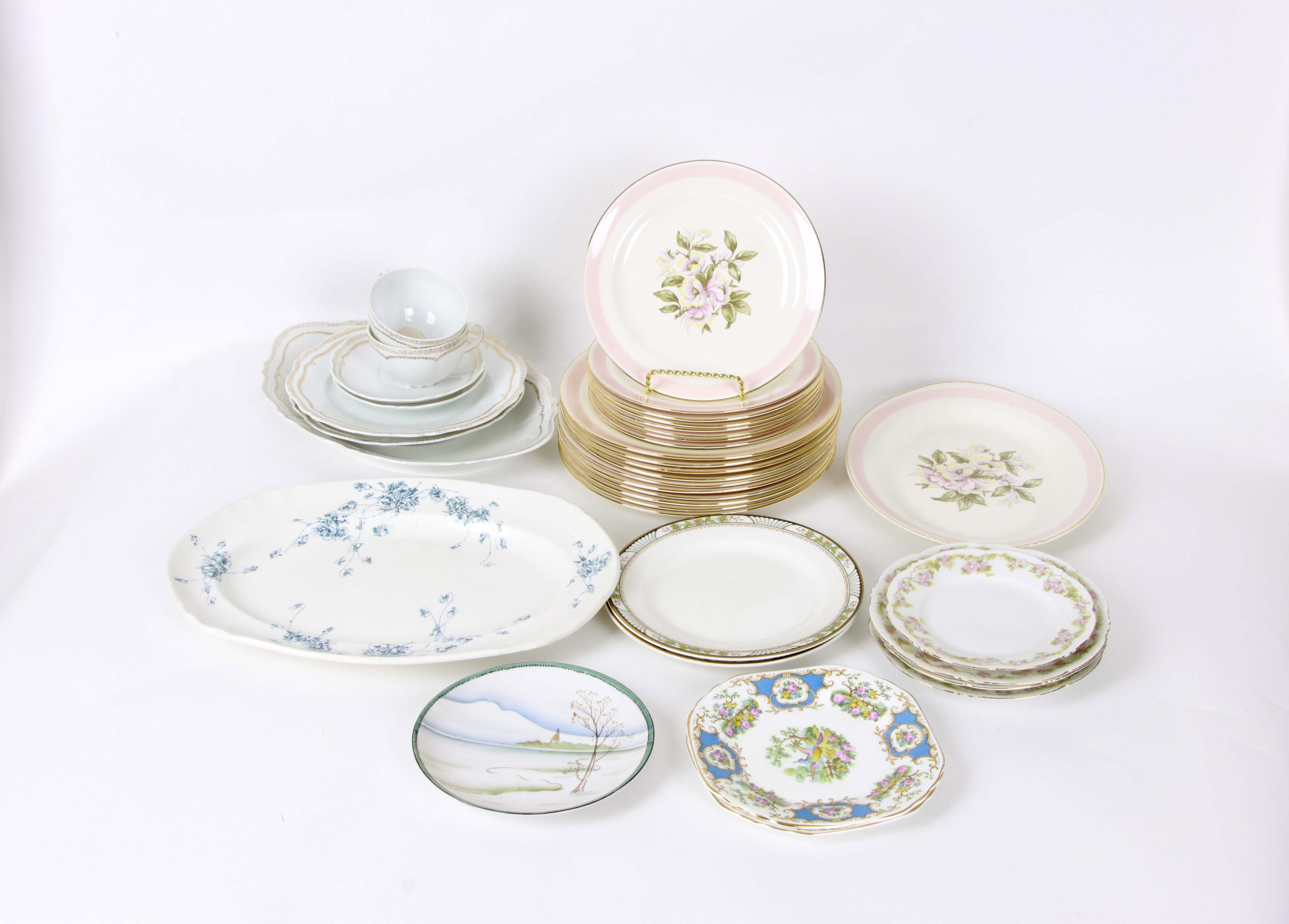 A Variety of China Tableware