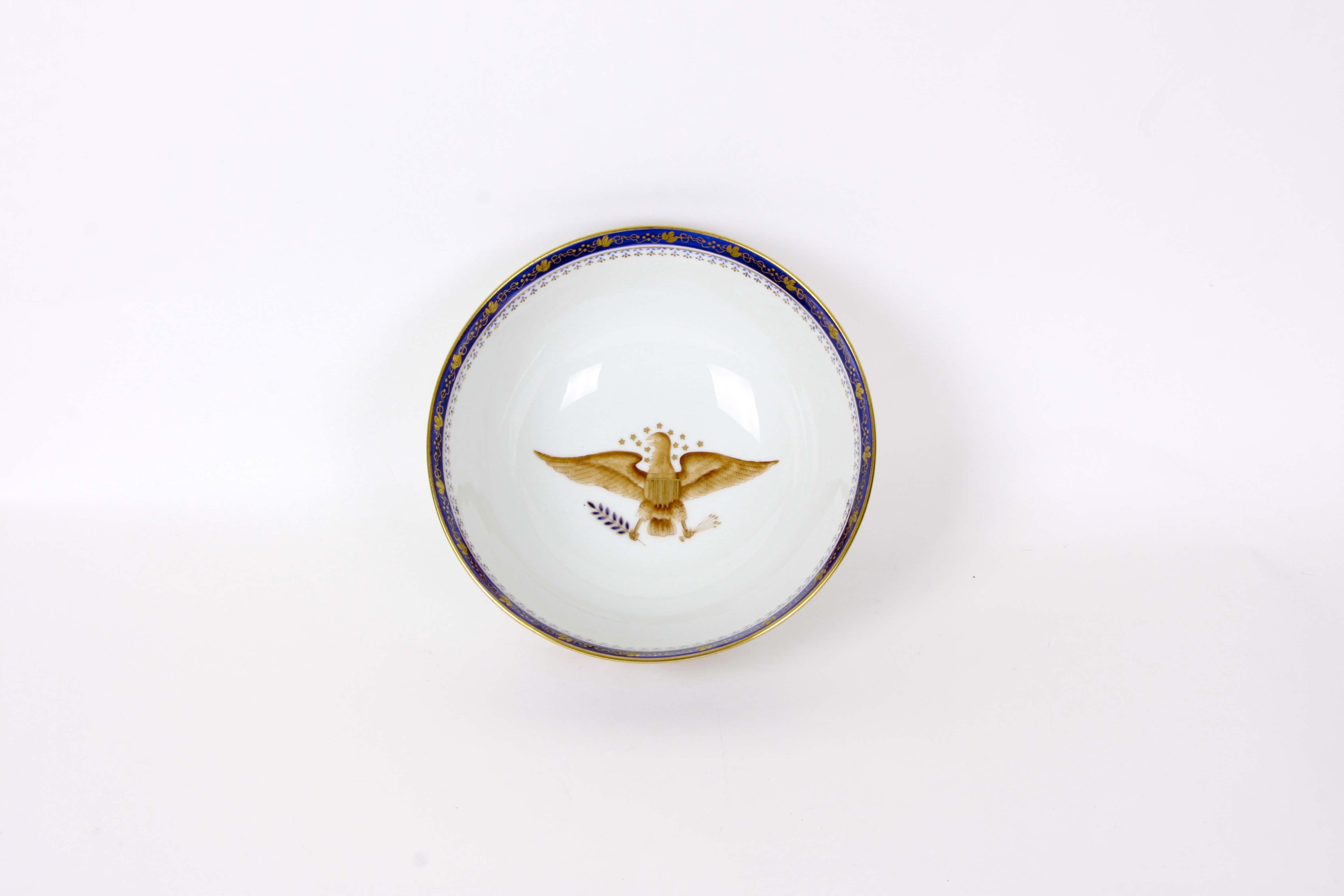 Porcelain Eagle Armonal Bowl