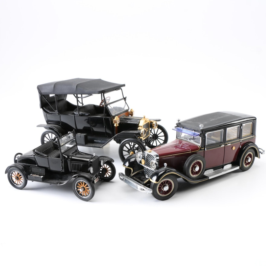 Early 20th Century Ford Die-Cast Model Cars : EBTH