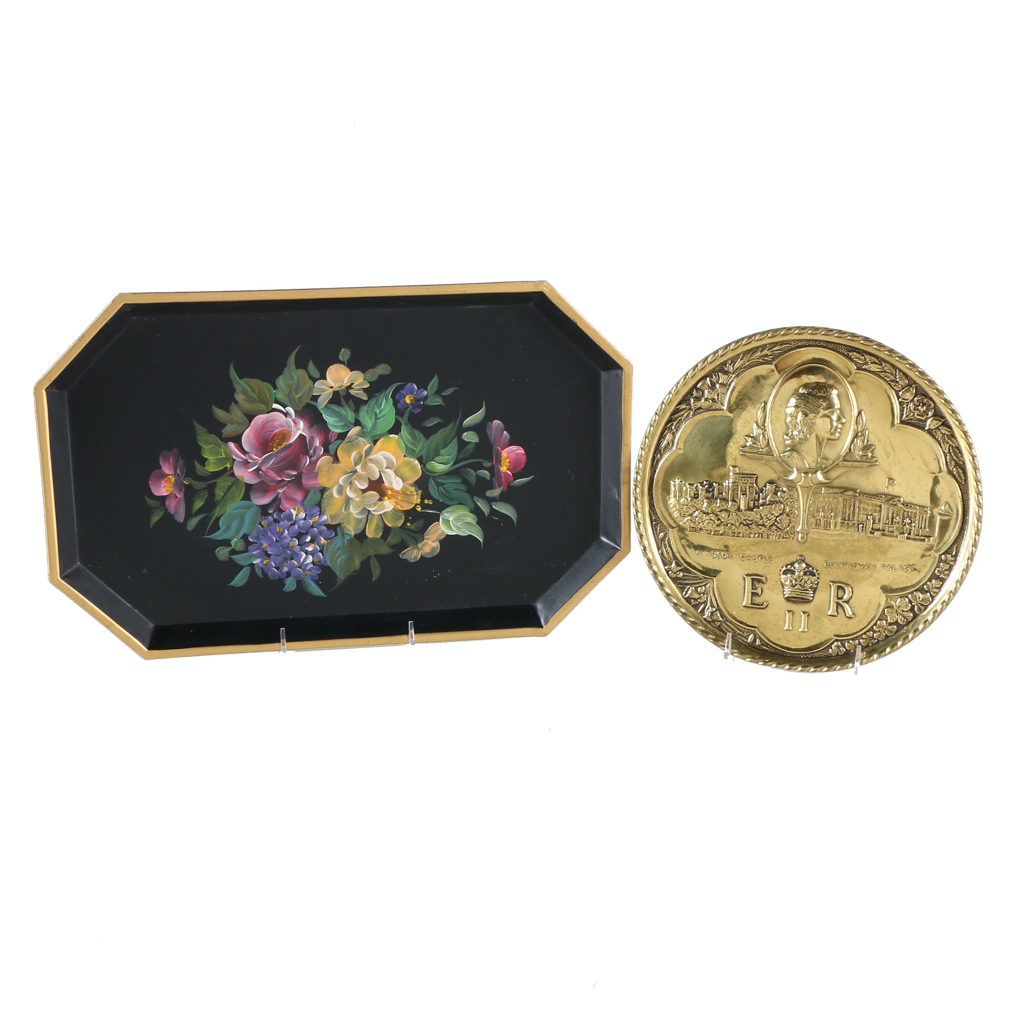 Decorative Tray and Plate