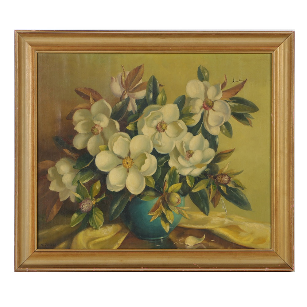 Oil Painting on Canvas Floral Still