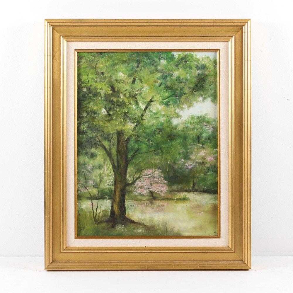 Original Oil on Canvas Landscape Painting