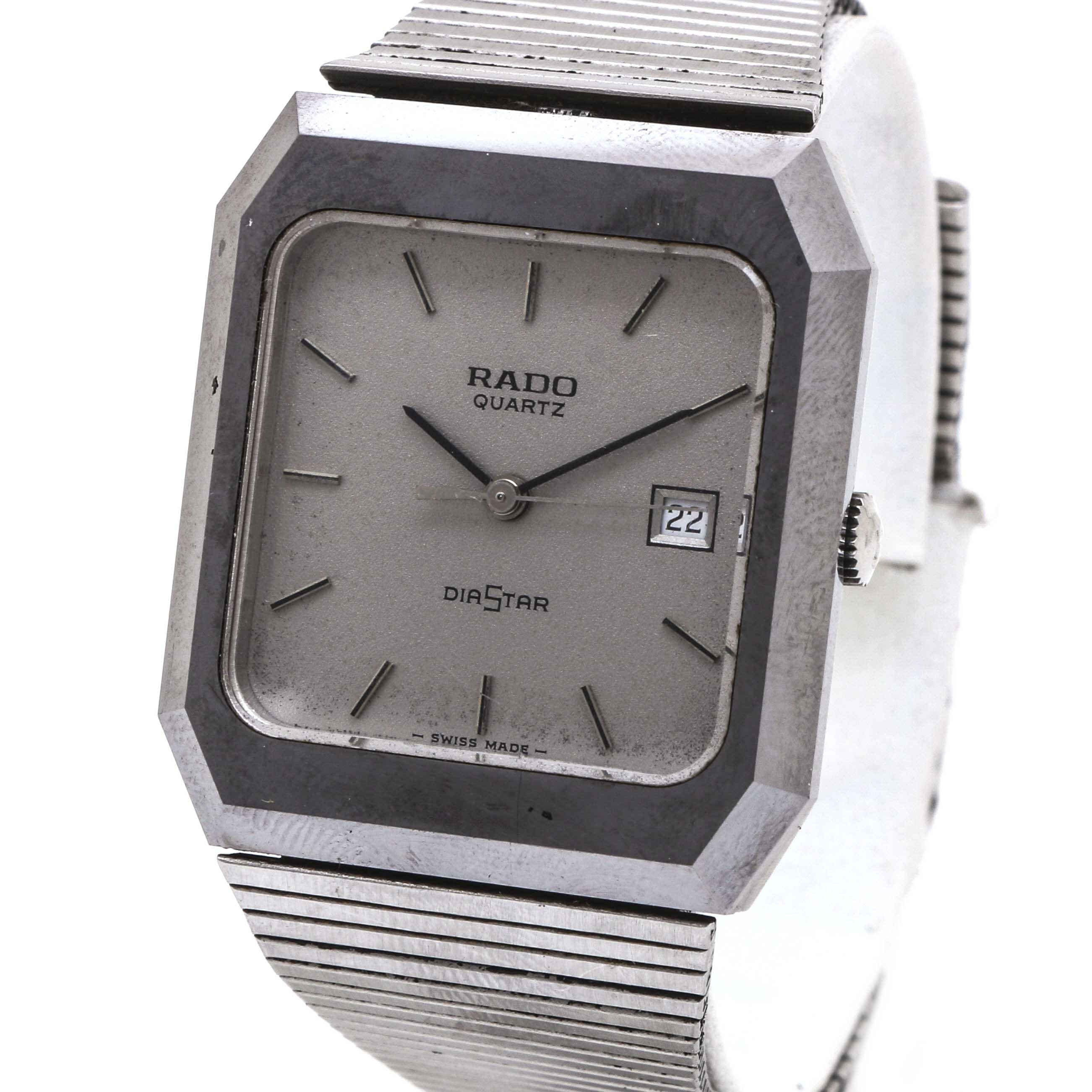 Rado Diastar Stainless Steel Wristwatch