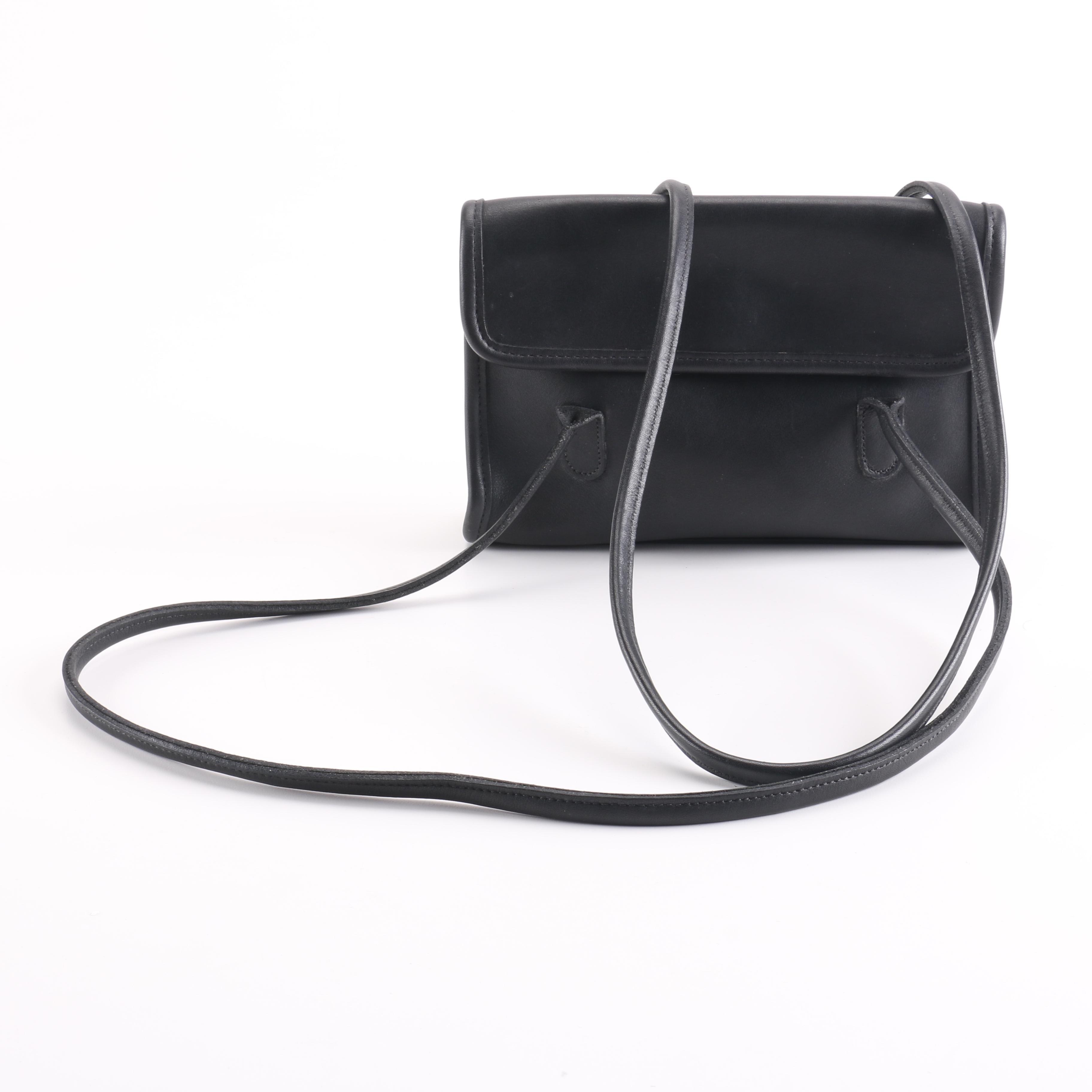 "Coach ""Laurie"" Leather Shoulder Bag"