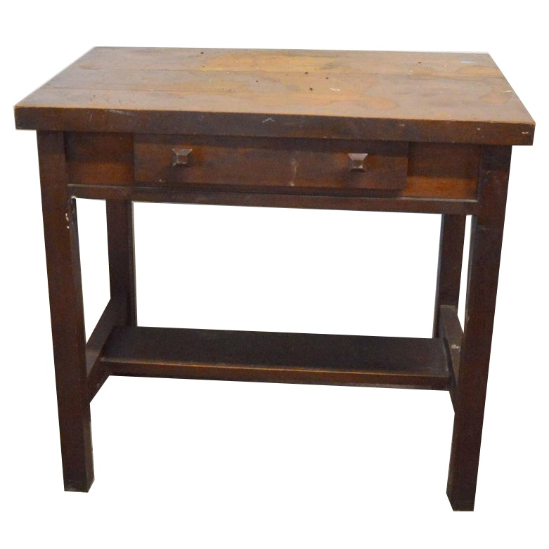Arts & Crafts Style Writing Desk