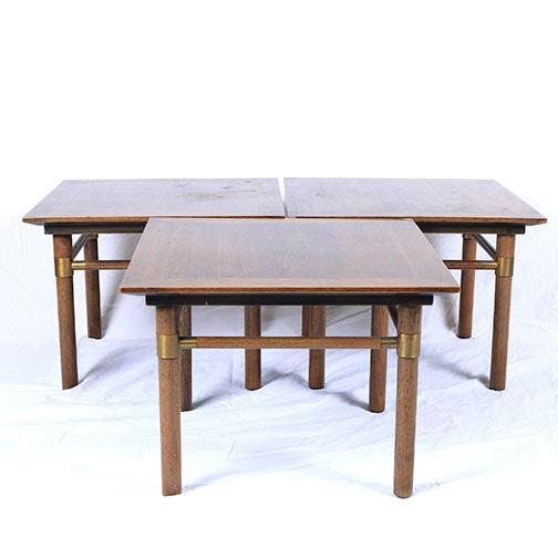 Mid Century Modern End Tables by Johnson-Handley-Johnson