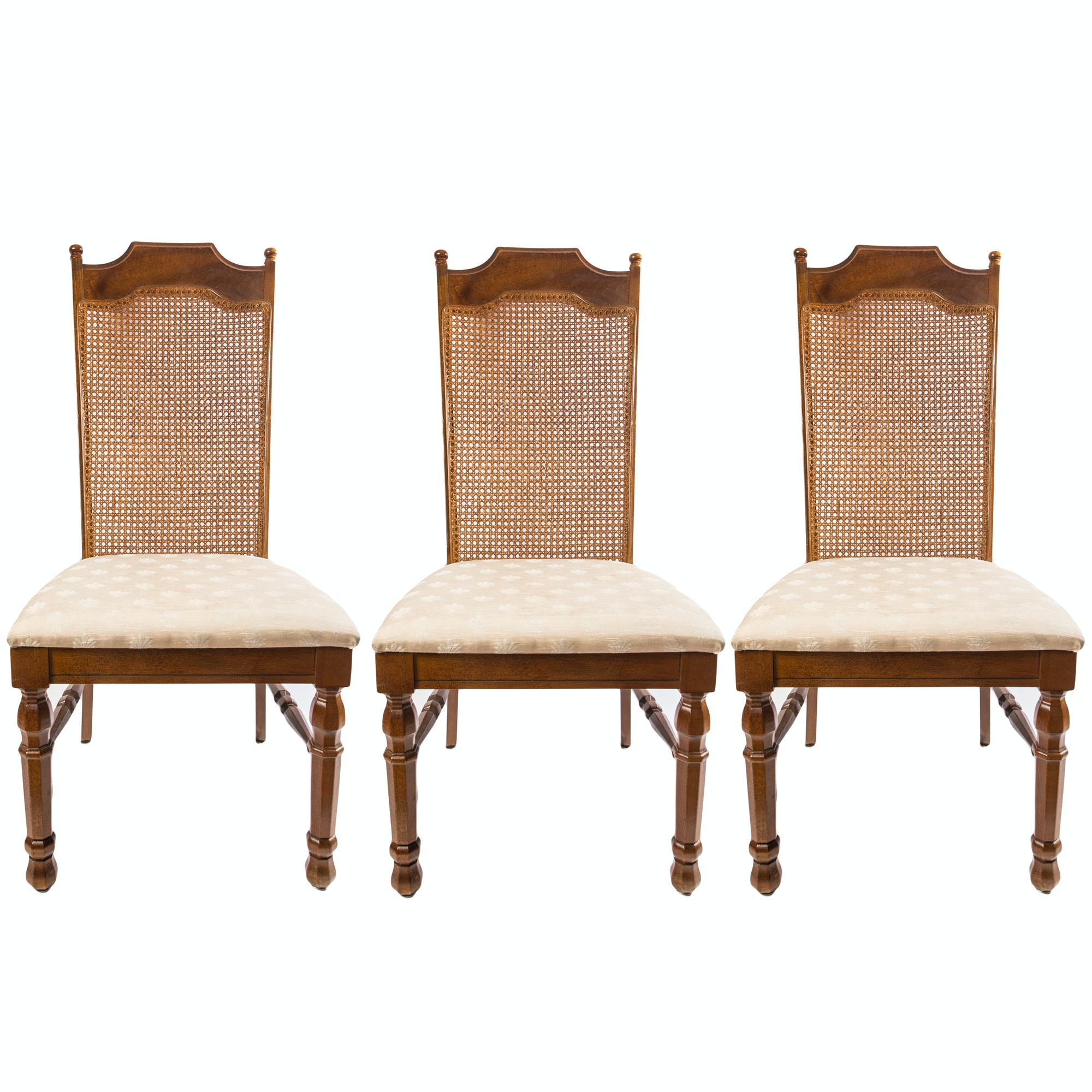Vintage Broyhill Cane Back Dining Chairs ...