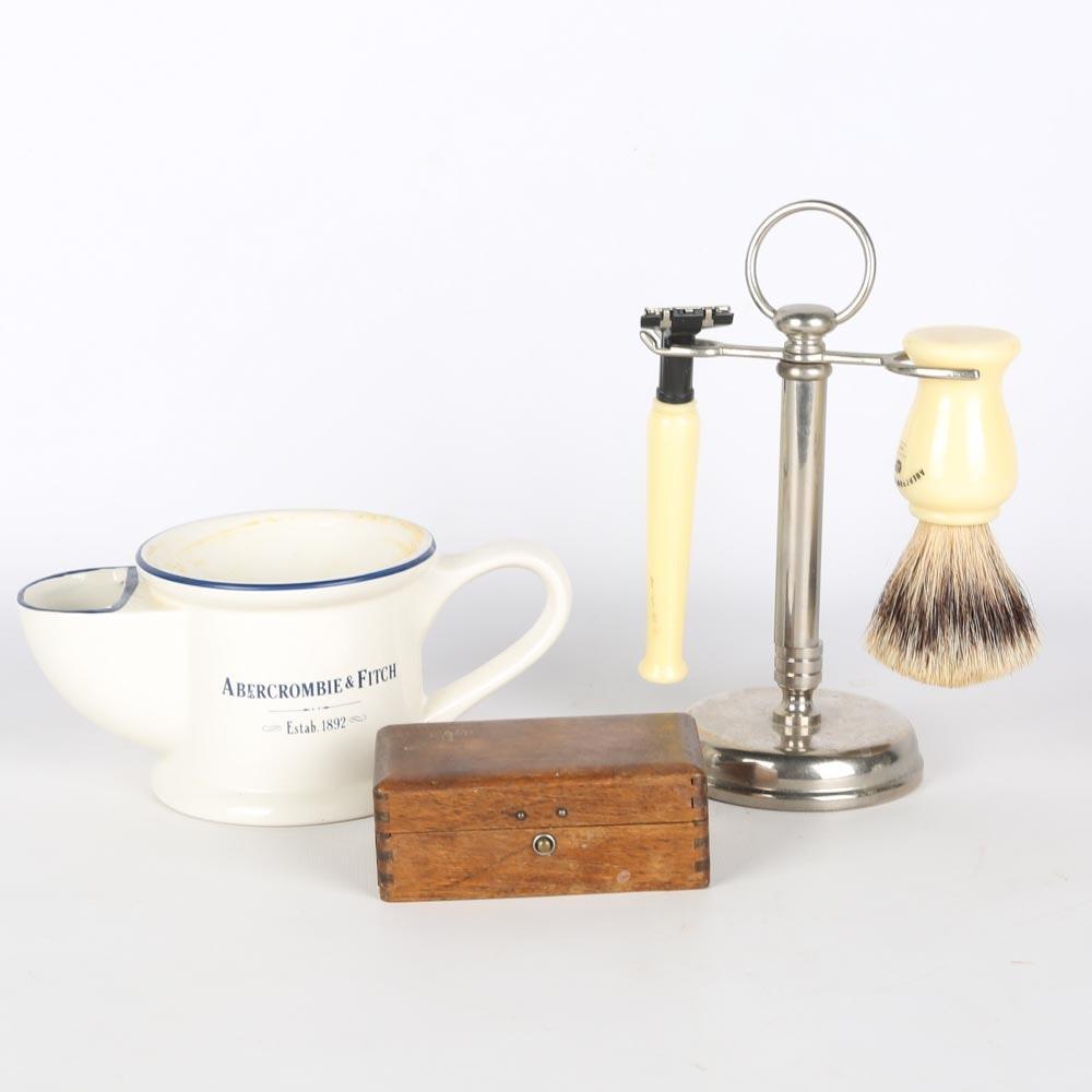 Vintage Shaving Equipment