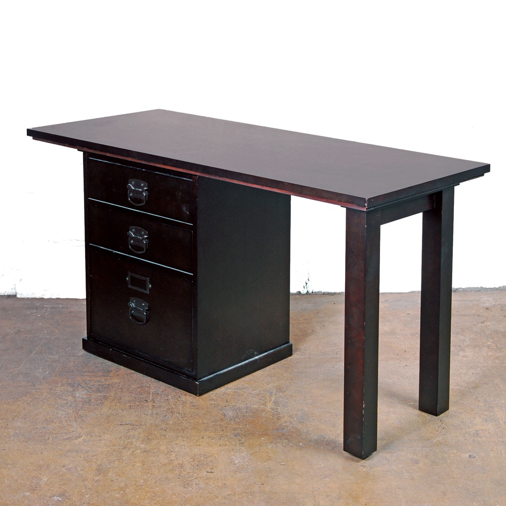"""""""Bedford"""" Desk with Filing Cabinet by Pottery Barn"""