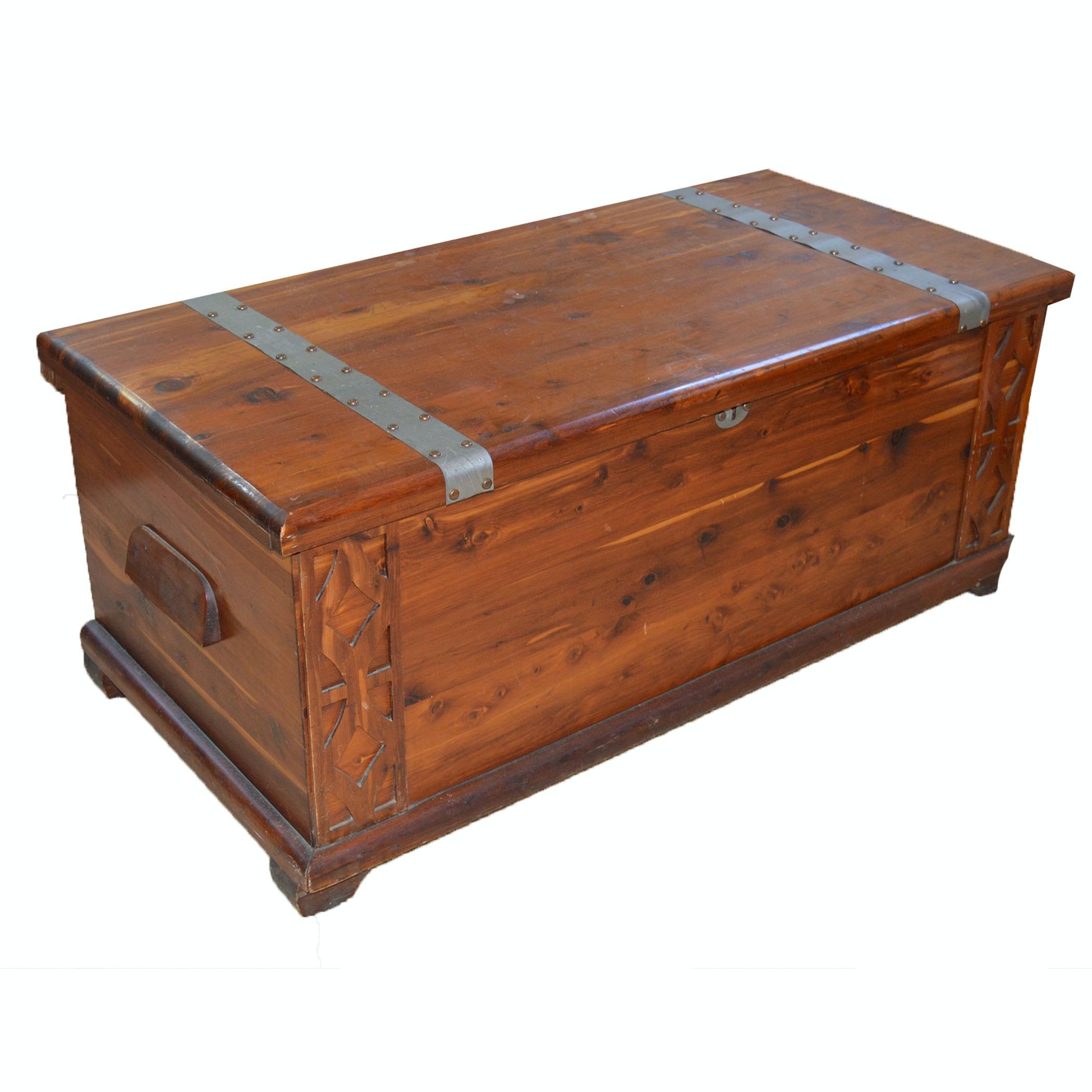 Vintage Landau Cabinet Co. Cedar Chest ...