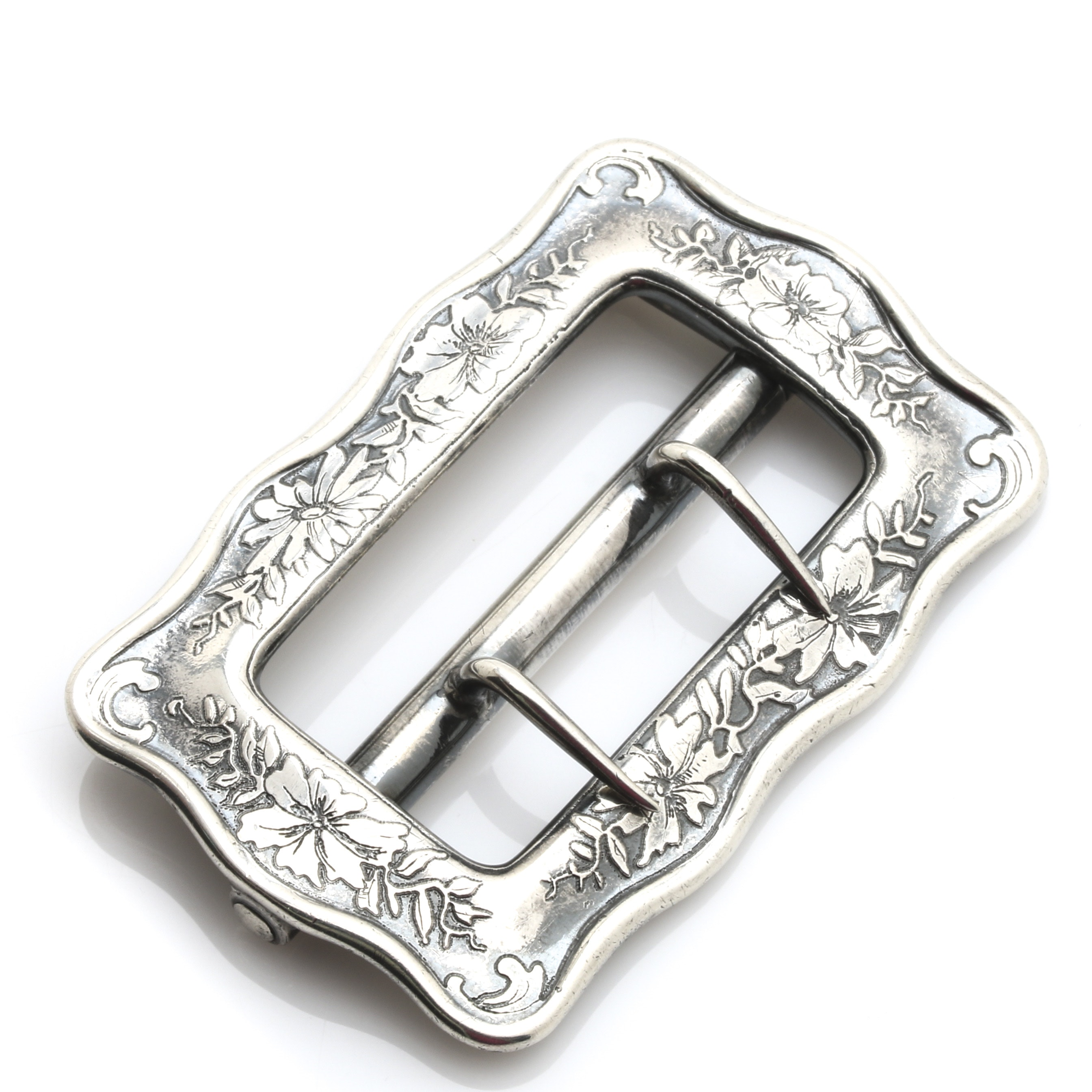 Vintage Tiffany & Co. Sterling Silver Sash Buckle