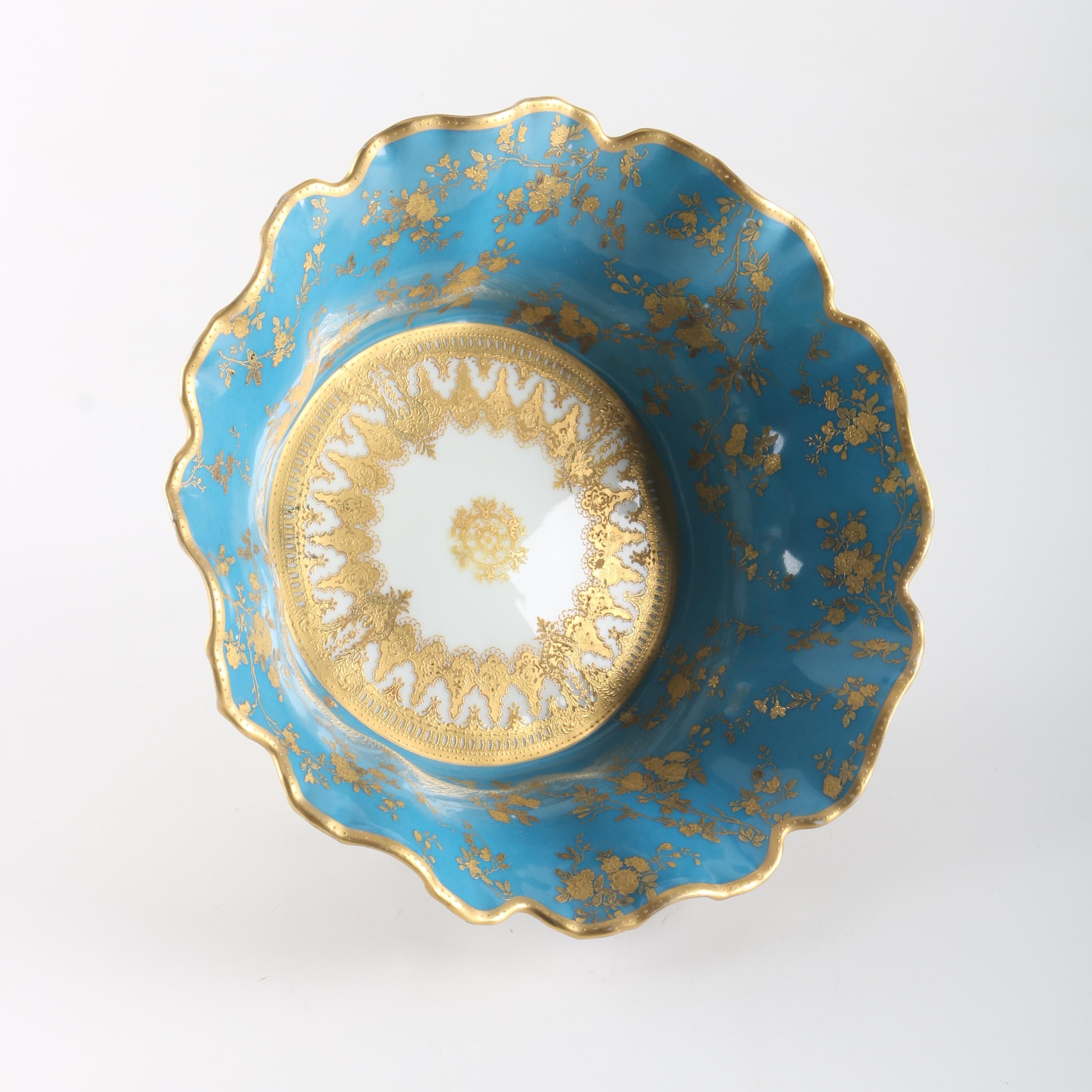 Haviland & Co. Porcelain Bowl With Gilt