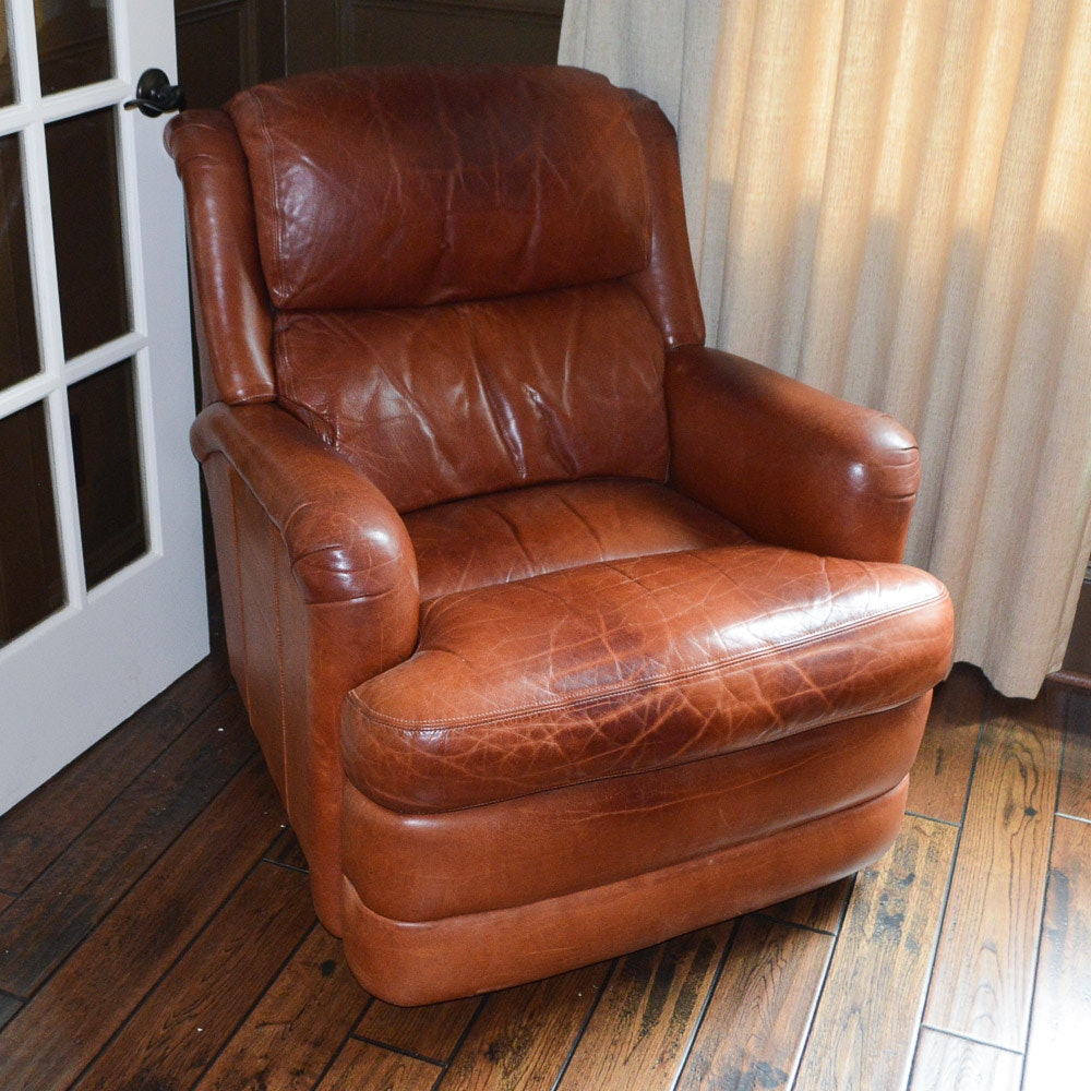 Delicieux Motioncraft Leather Recliner By Sherrill ...
