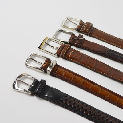 Men's Leather Belt Collection