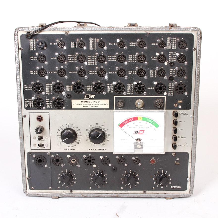 Vintage B&K Model 700 Dynamic Mutual Conductance Tube Tester