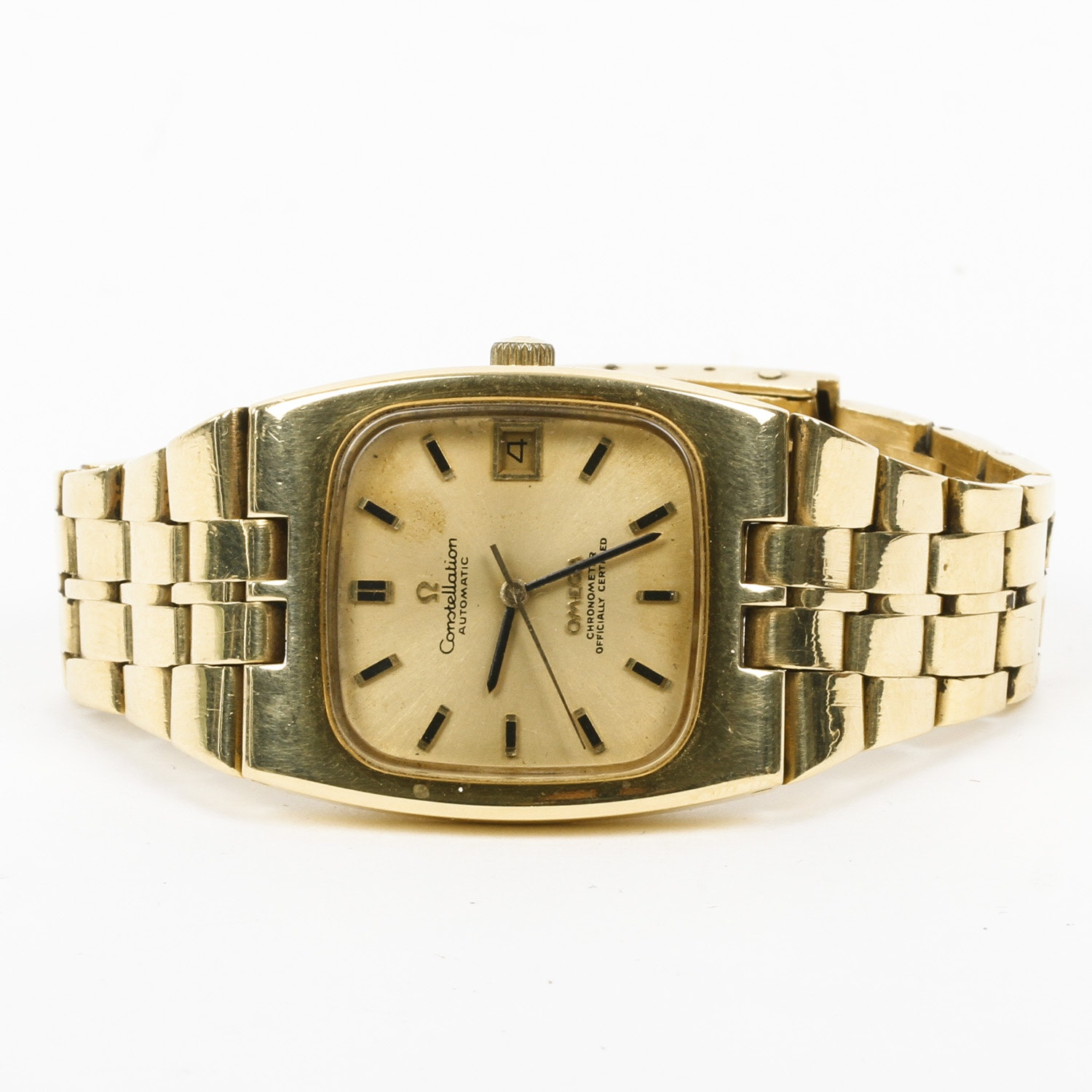 18K Yellow Gold Omega Constellation Watch