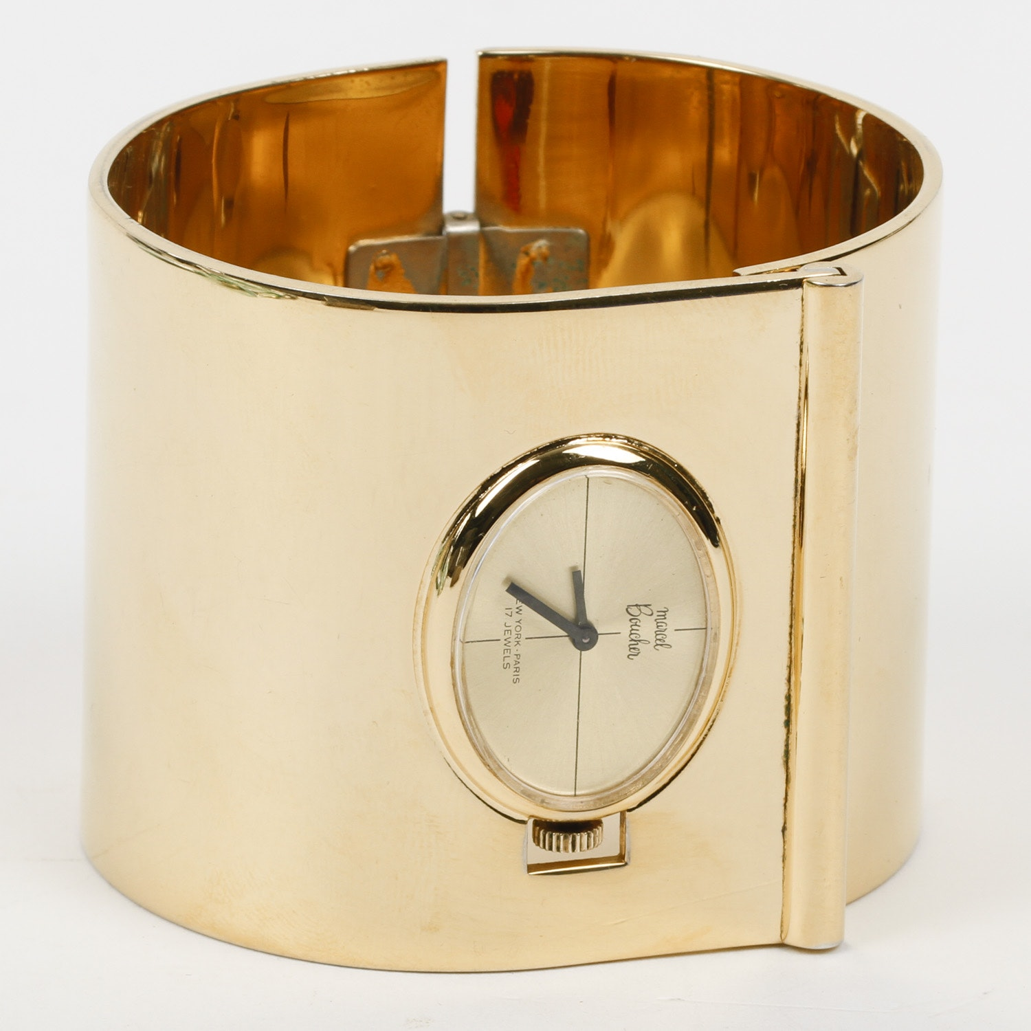 Vintage Marcel Boucher Cuff Watch