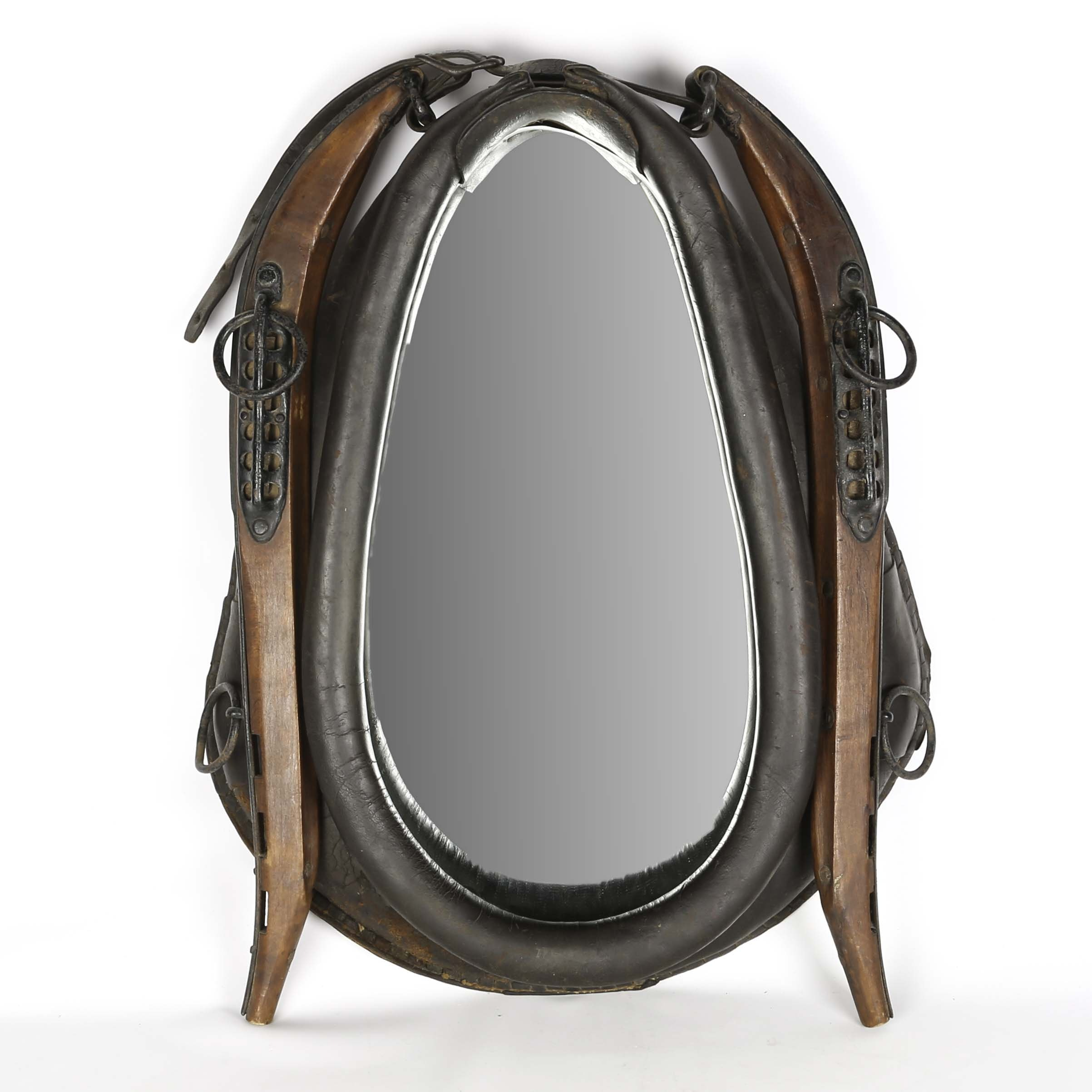 Antique Harness and Yoke Mirror