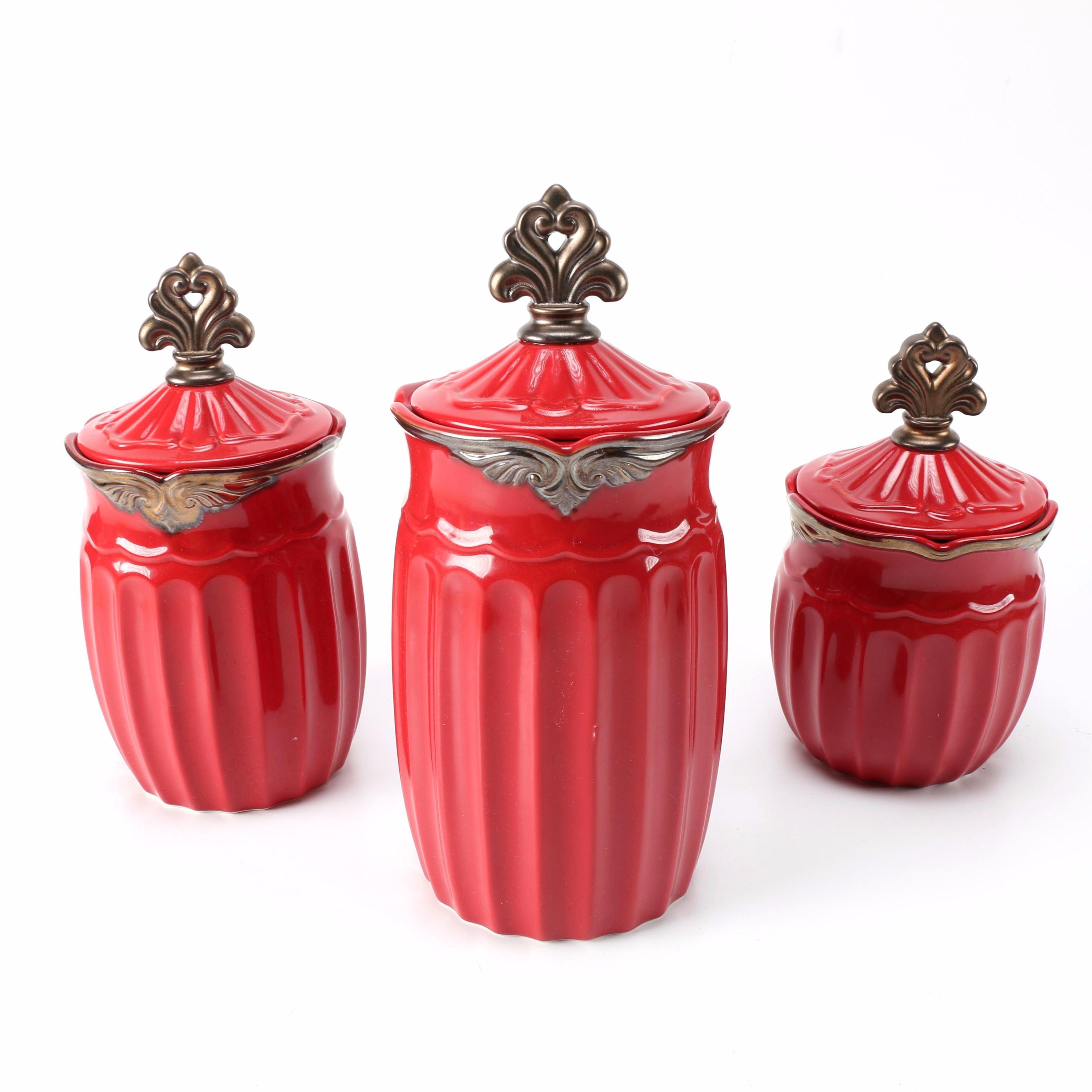 kitchen canisters red kitchen canisters red ceramic kitchen ideas