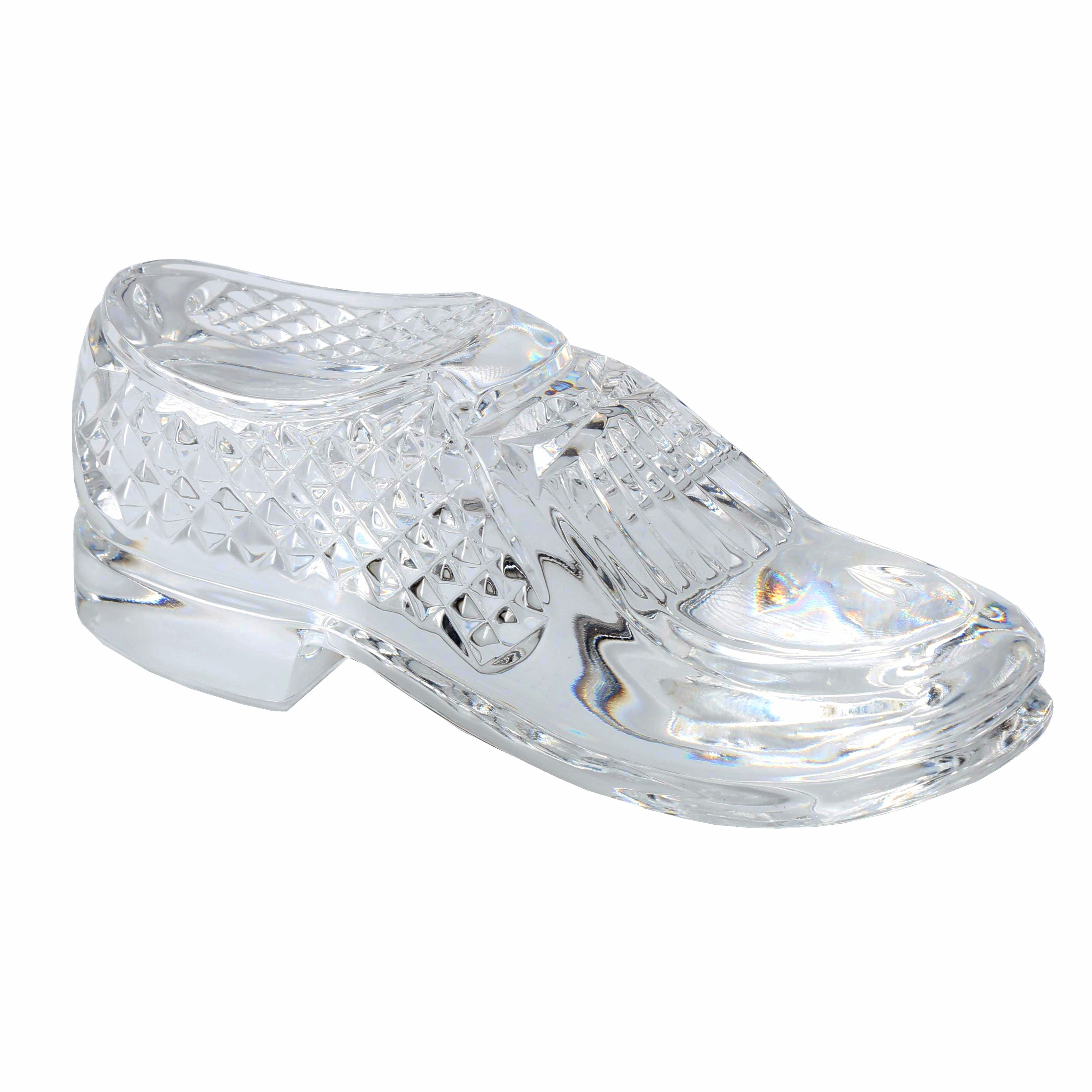 Waterford Shoe Paperweight