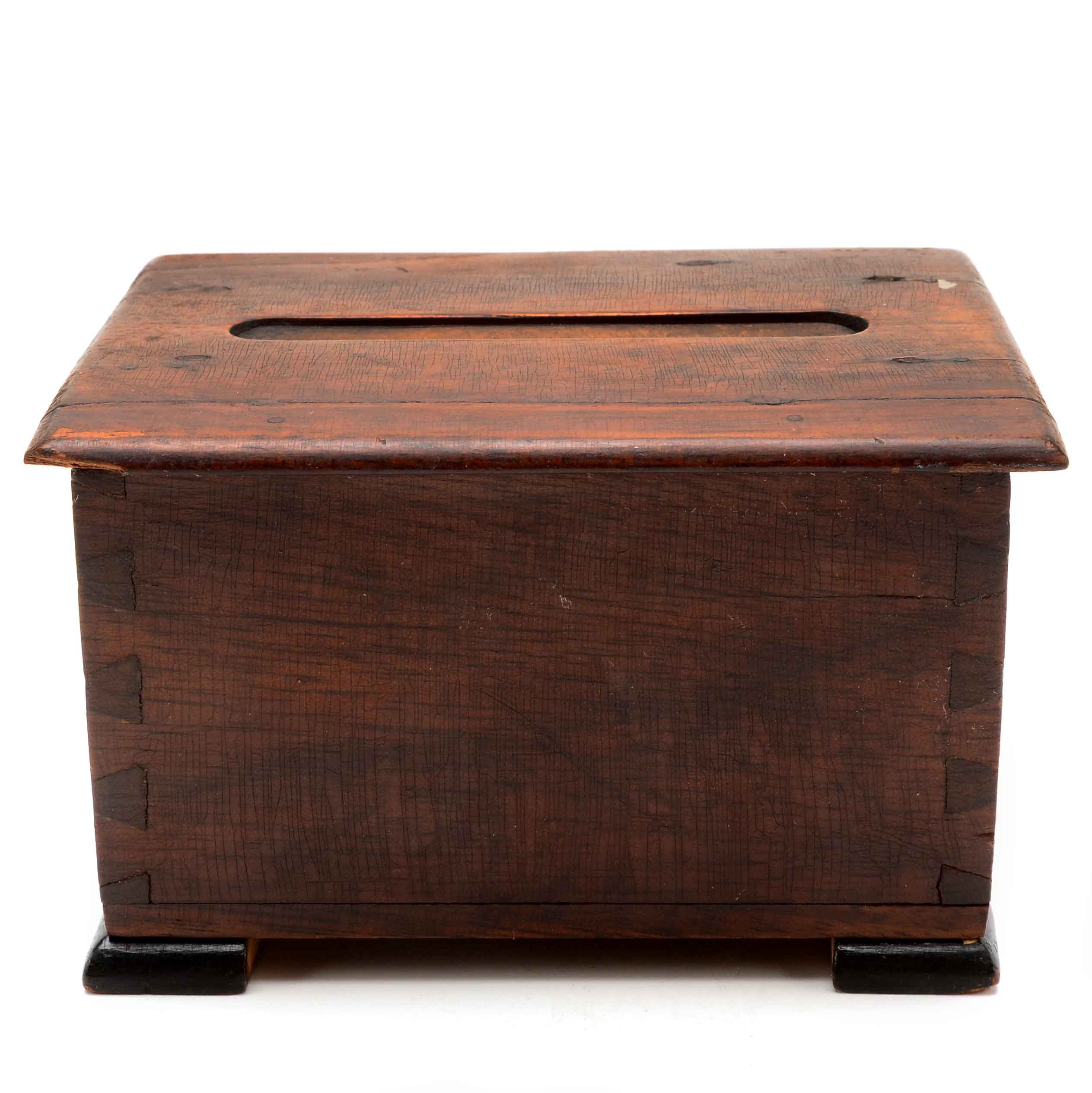 Antique Cigarette Dispenser Box