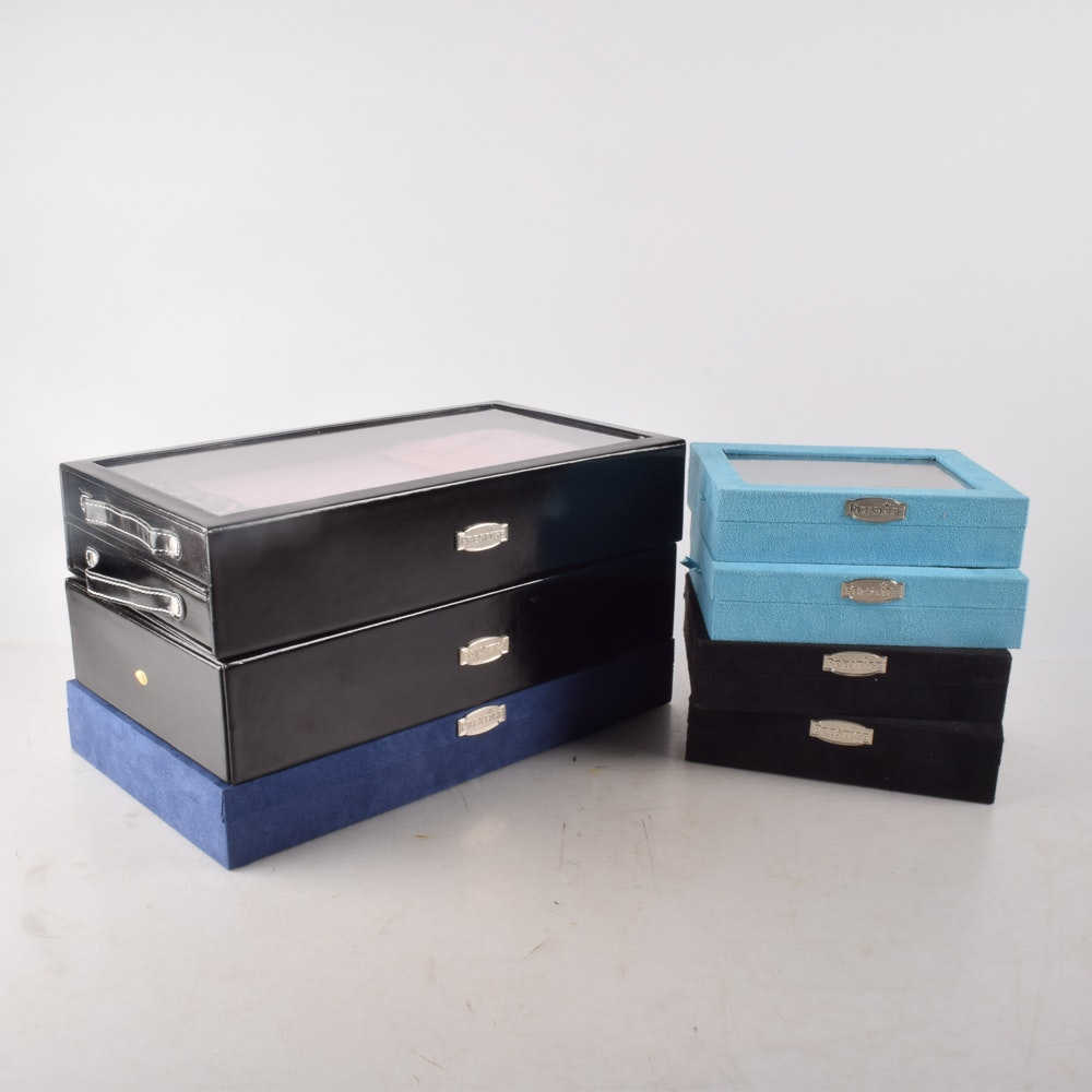 Blue and Black Jewelry Cases from Prestige