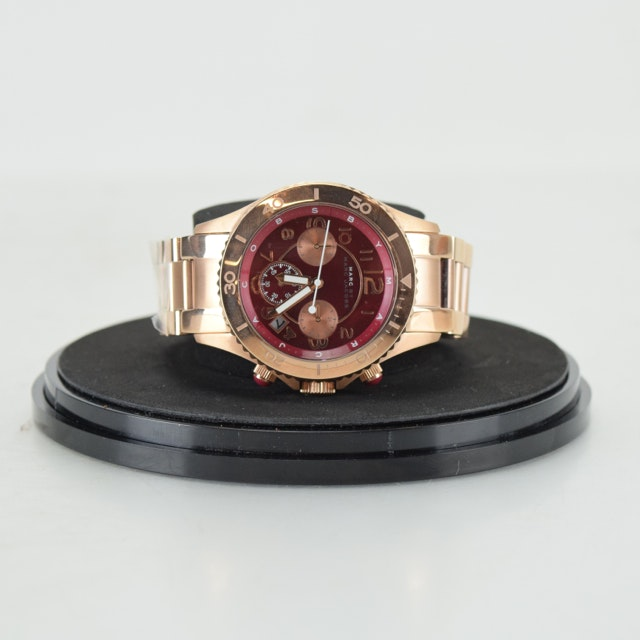 Marc by Marc Jacobs Rose Gold Tone Wristwatch