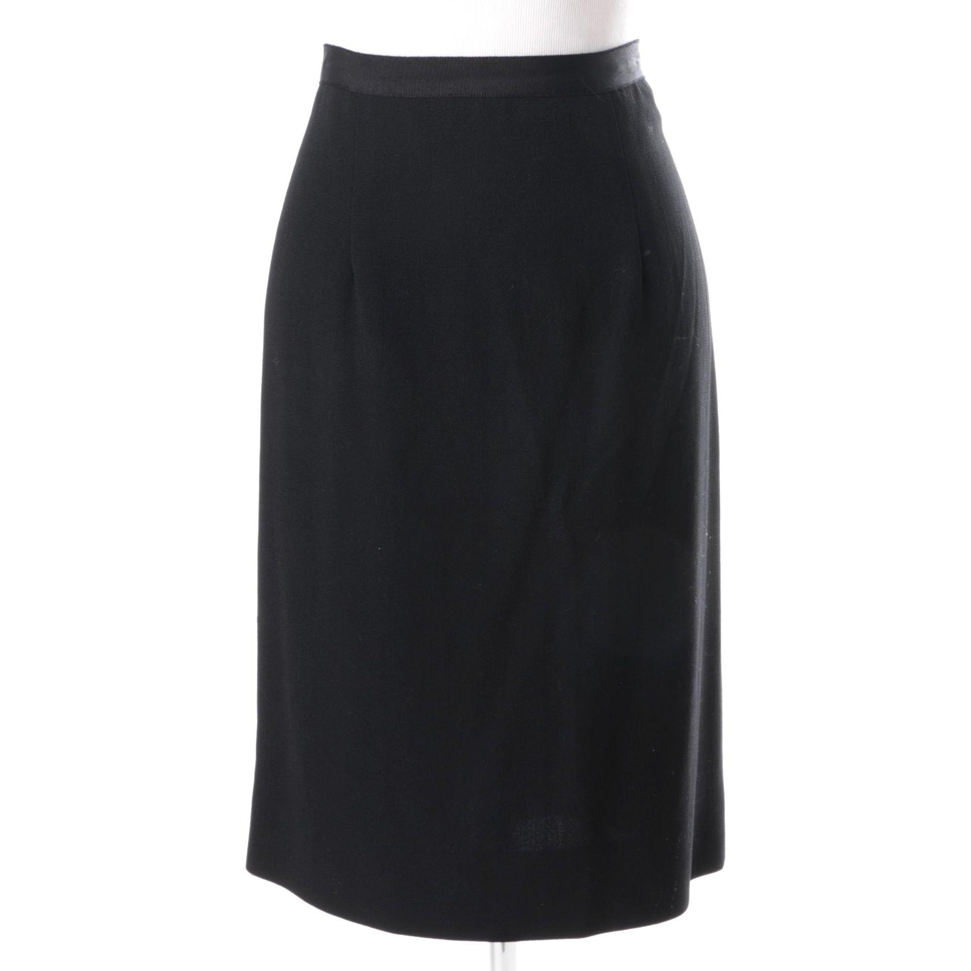 Oscar da la Renta Pencil Skirt
