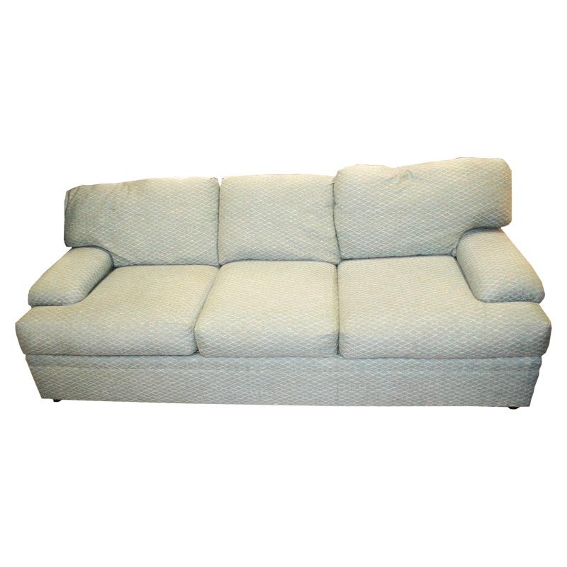 Pearson Green Lattice Pattern Sofa
