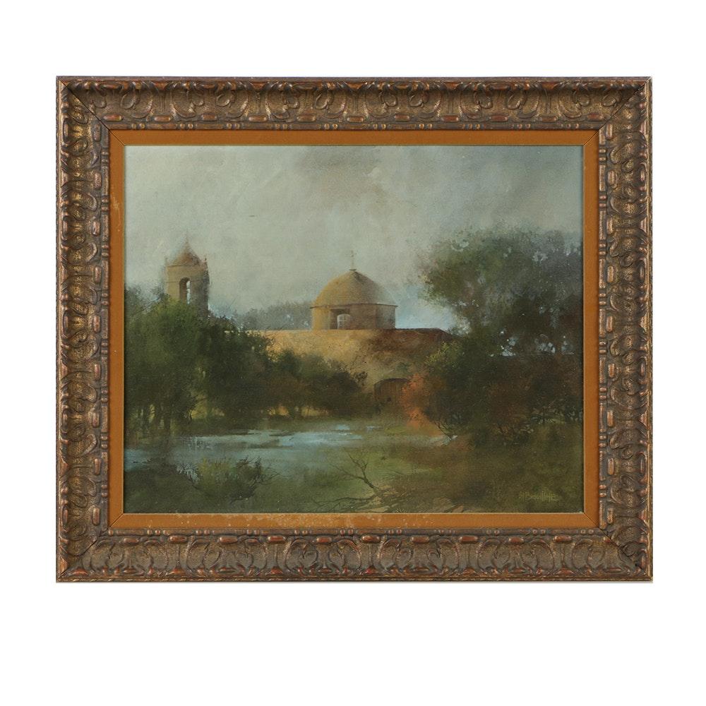 Al Brouillette Original Oil Painting on Canvas
