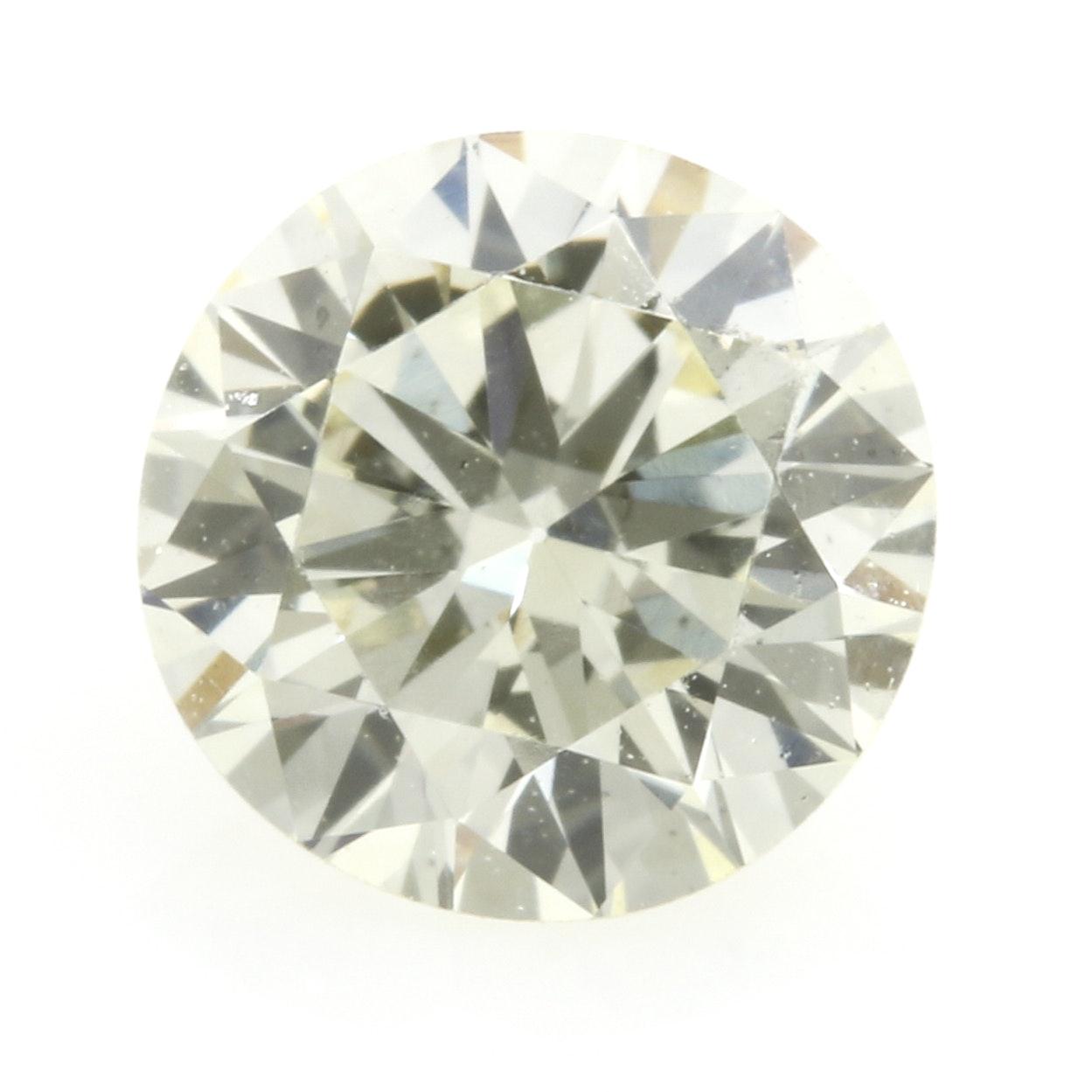 Loose Round Brilliant Cut 0.40 CT Diamond