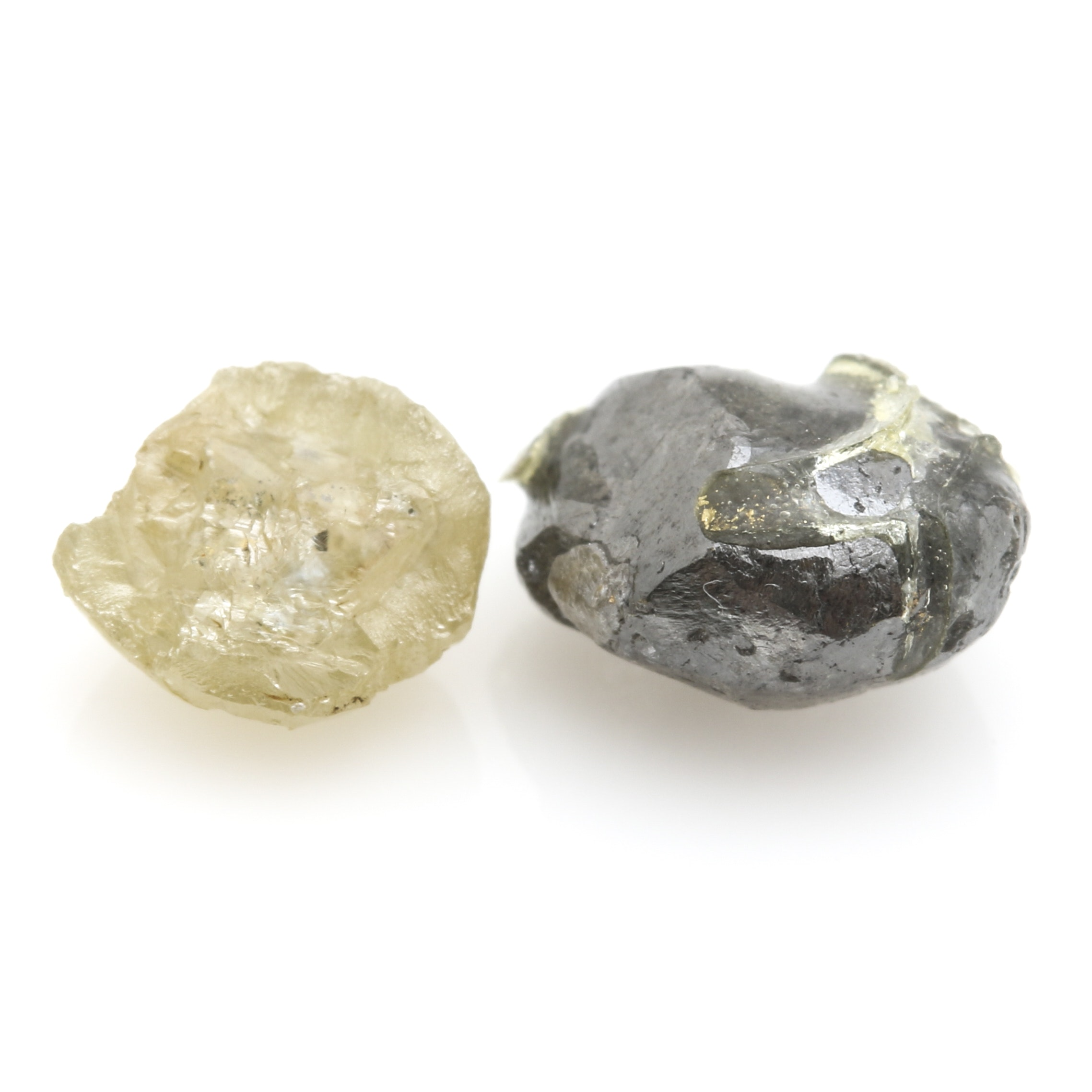 Loose 3.07 CTW Rough Diamonds