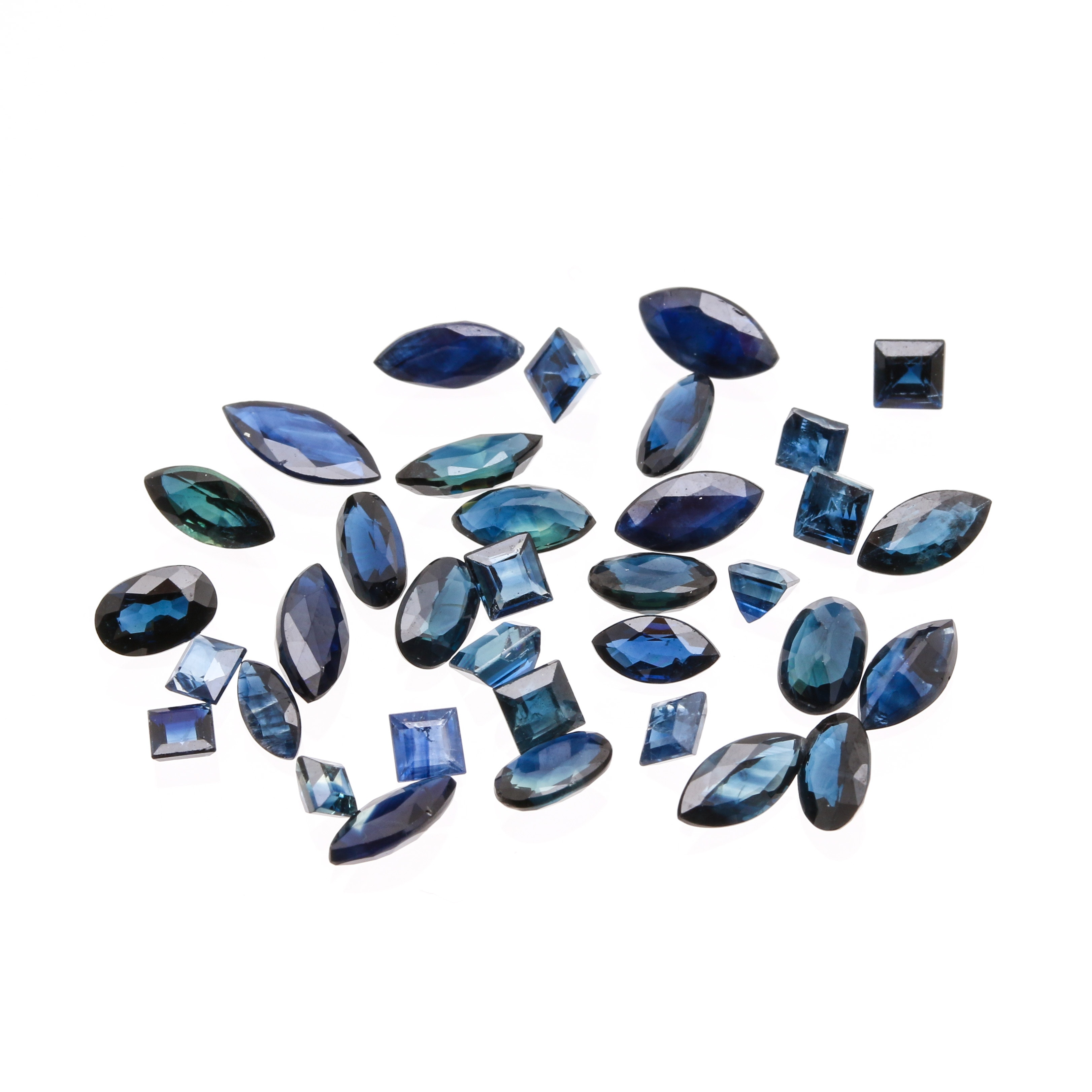 Assortment of 8.50 CTW Blue Sapphire Loose Gemstones