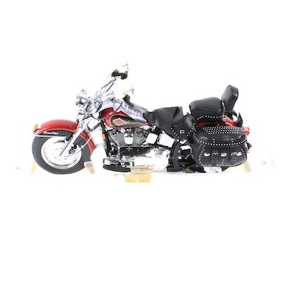 Franklin Mint 150 Scale Harley Davidson Heritage Softail Classic Replica