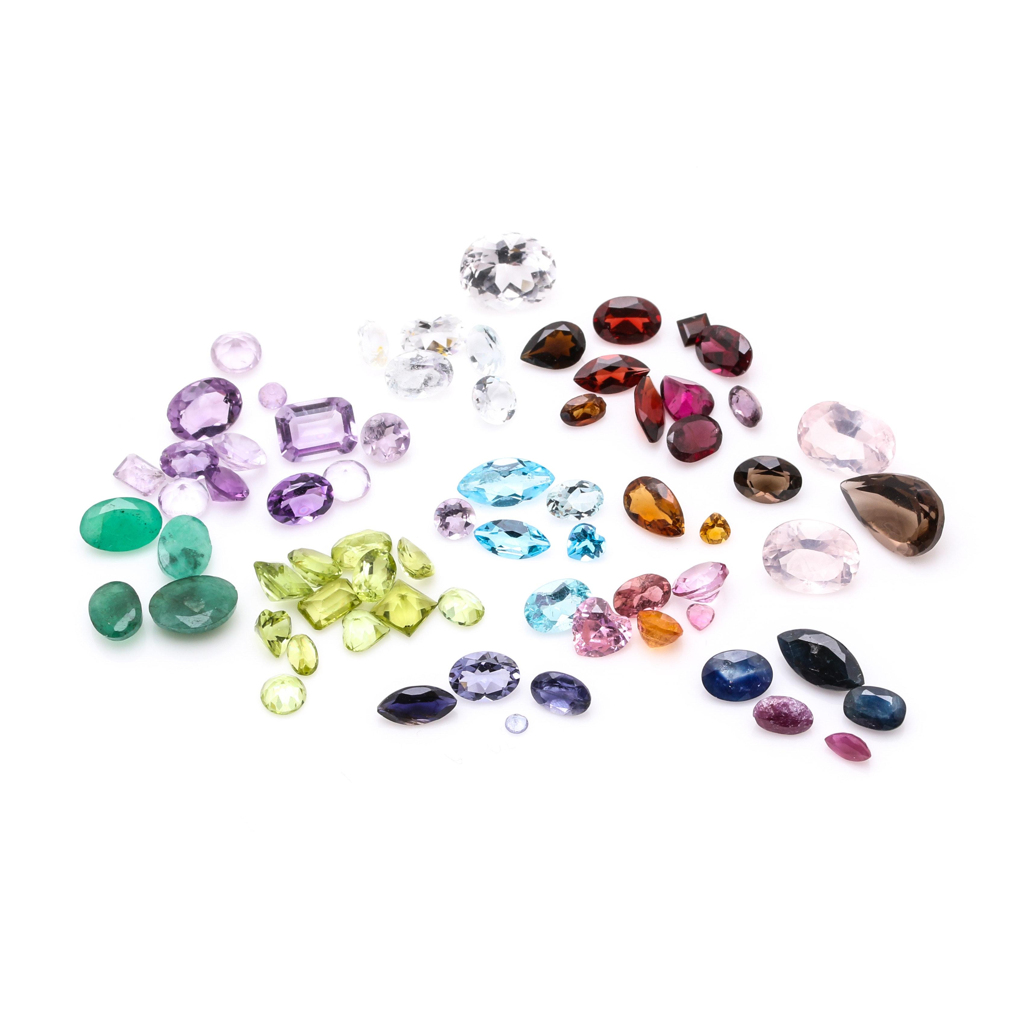 49.18 CTW Assorted Loose Gemstones