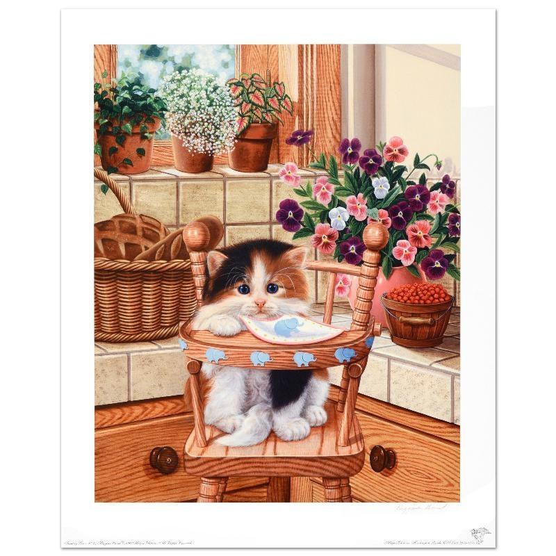 "Barbara Higgins-Bond Limited Edition Print ""Sunday Brunch"""