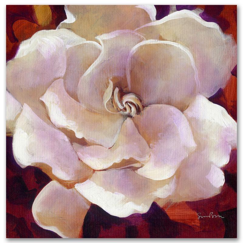 """Simon Bull Limited Edition Giclee on Canvas """"Gardenia"""""""