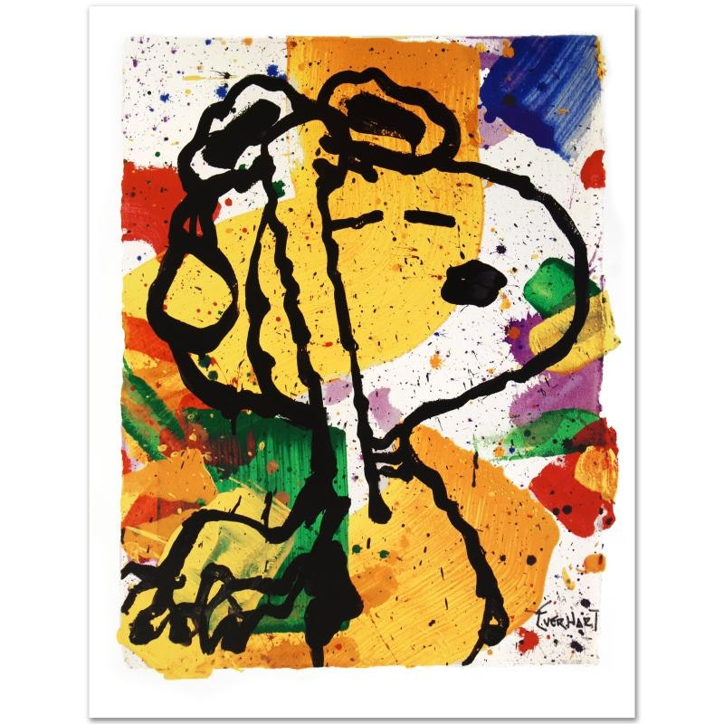 """Tom Everhart Limited Edition Lithographic Art Print """"Salute"""""""