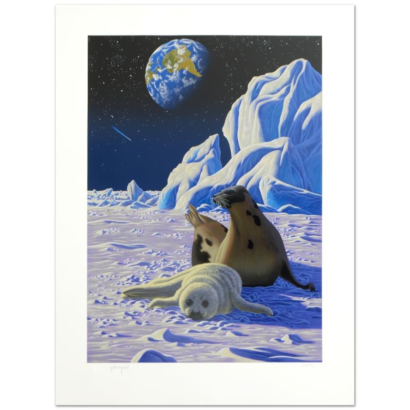 """William Schimmel Limited Edition Serigraph """"The End of Innocence"""""""