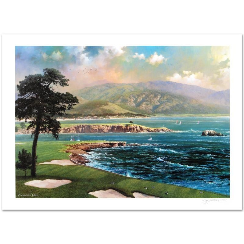 """Alexander Chen Limited Edition Print """"On a Clear Day"""""""