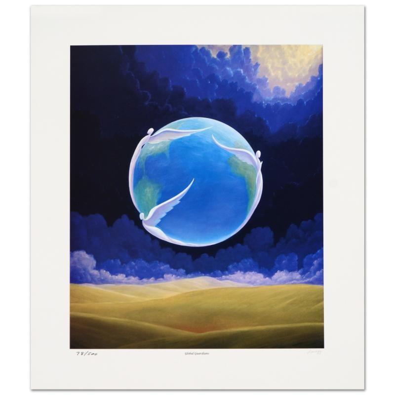 "Steven Lavaggi Limited Edition Lithograph ""Global Guardians"""